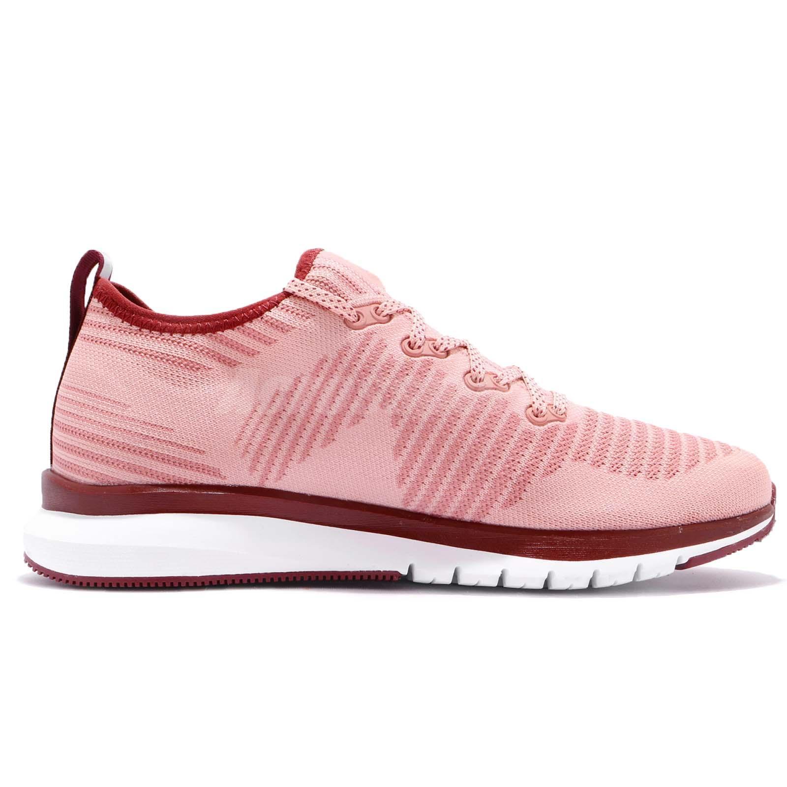 7653486f21fb Reebok Print Smooth 2.0 ULTK UltraKnit Chalk Pink Maroon Women ...