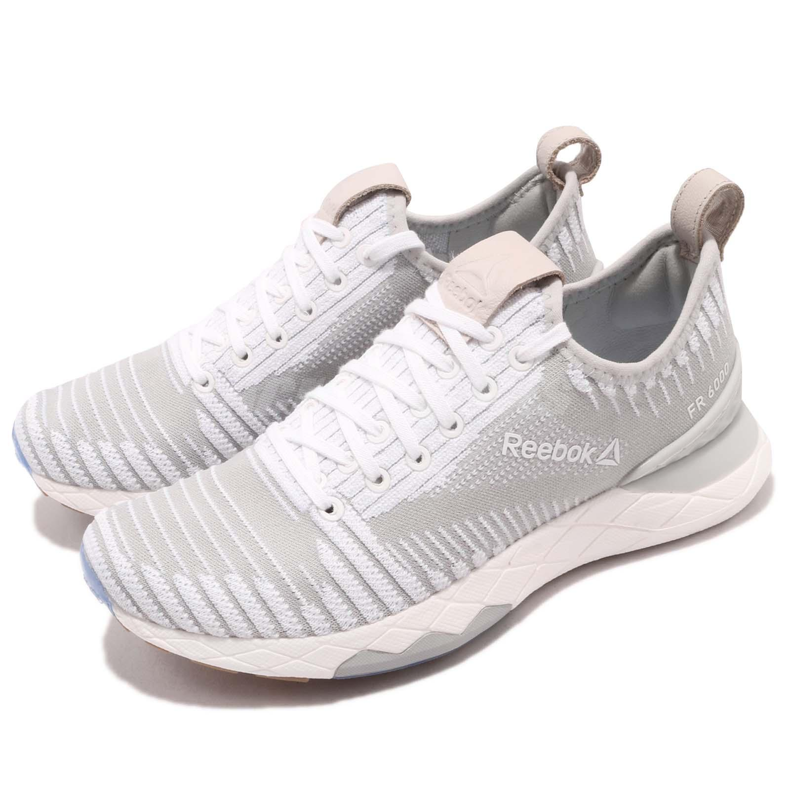 Details about Reebok Floatride 6000 Ultraknit White Grey Stucco Women  Running Shoes CN1763 d86aaa4c1
