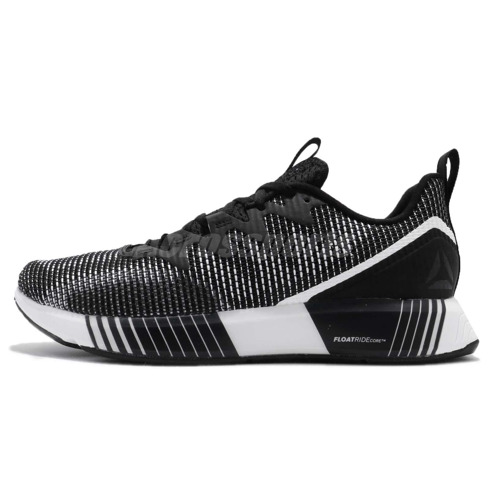 adf0a2d6af2 Reebok Fusion Flexweave Floatride Black White Men Running Shoes Sneakers  CN2424