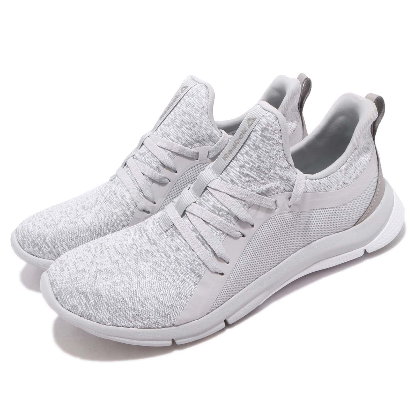 acd3560e73063f Details about Reebok Print Her 3.0 Grey White Women Running Training Shoes  Sneakers CN2521