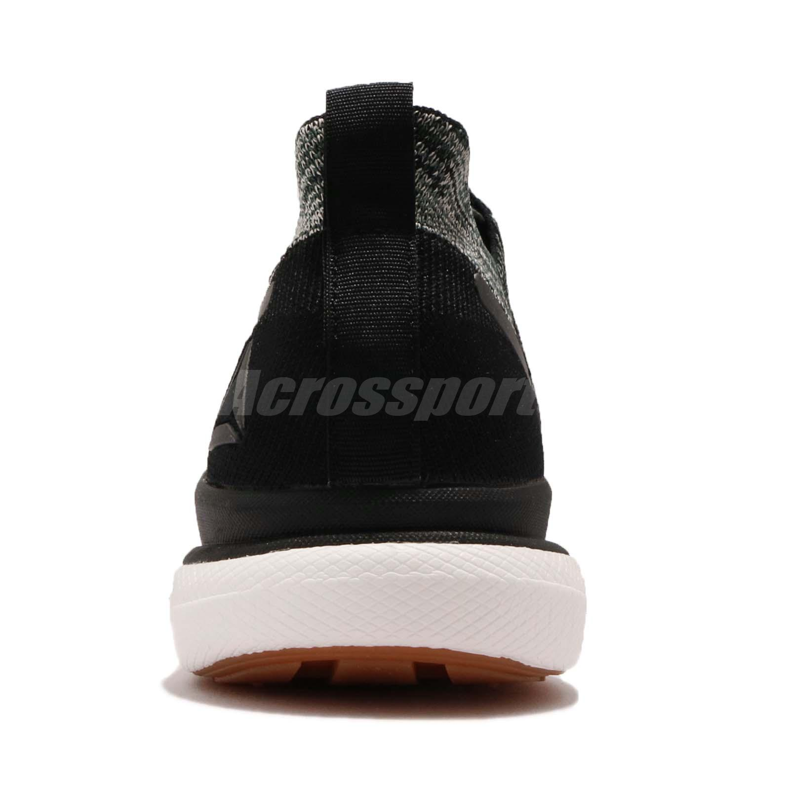 57c326552 Reebok Floatride RS ULTK Ultraknit Black Green Grey Gum Men Running ...