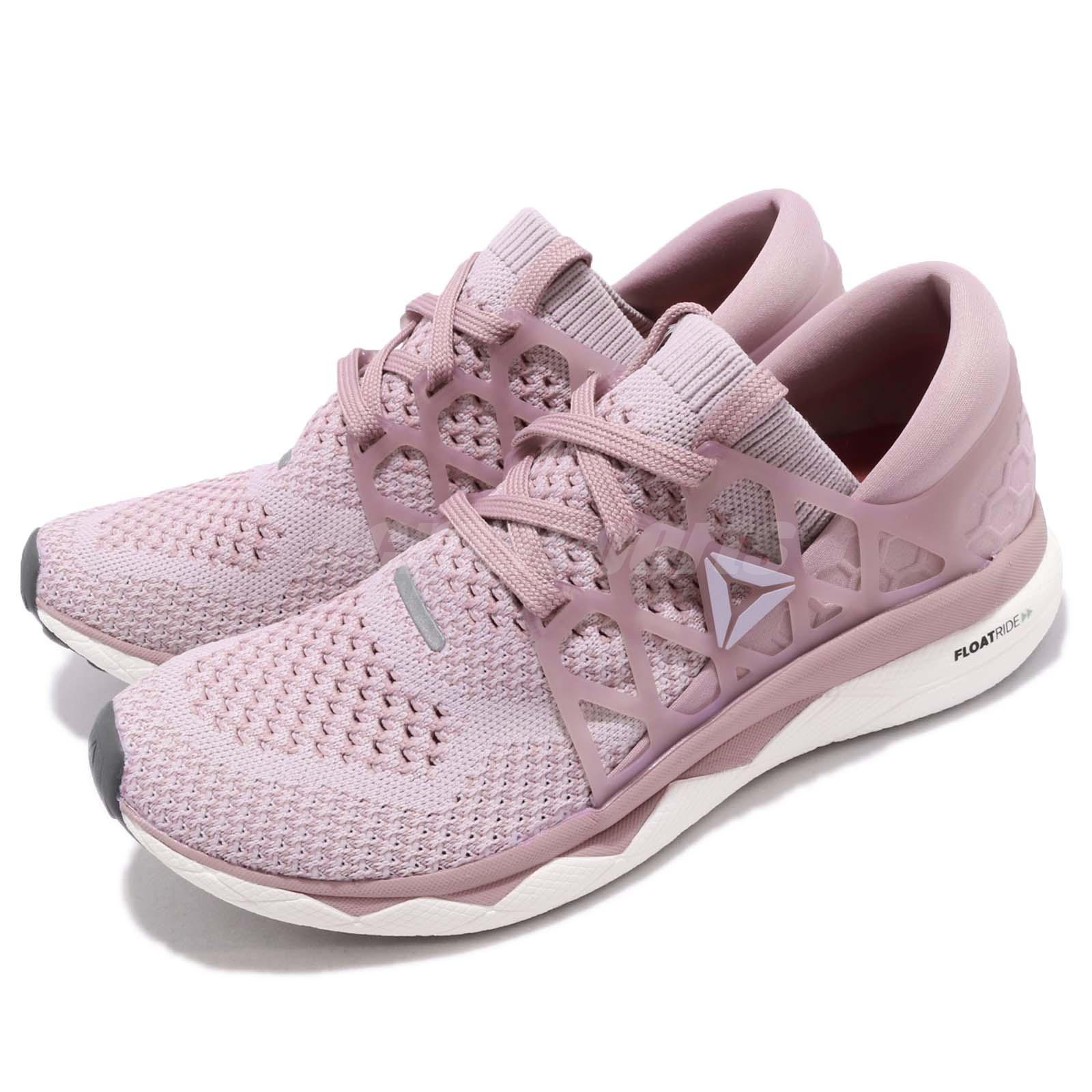 e5ee656c978471 Details about Reebok Floatride Run ULTK Ultraknit Lilac Berry White Women  Running Shoes CN2590