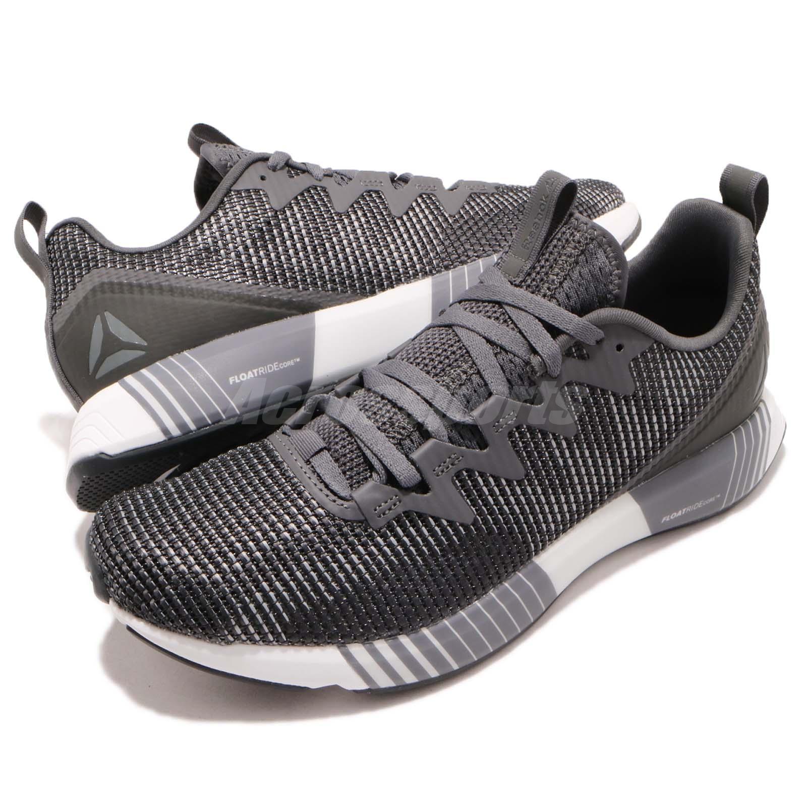 a0b1664bdc15 Details about Reebok Fusion Flexweave Grey Coal White Men Running Training  Shoe Sneaker CN2854