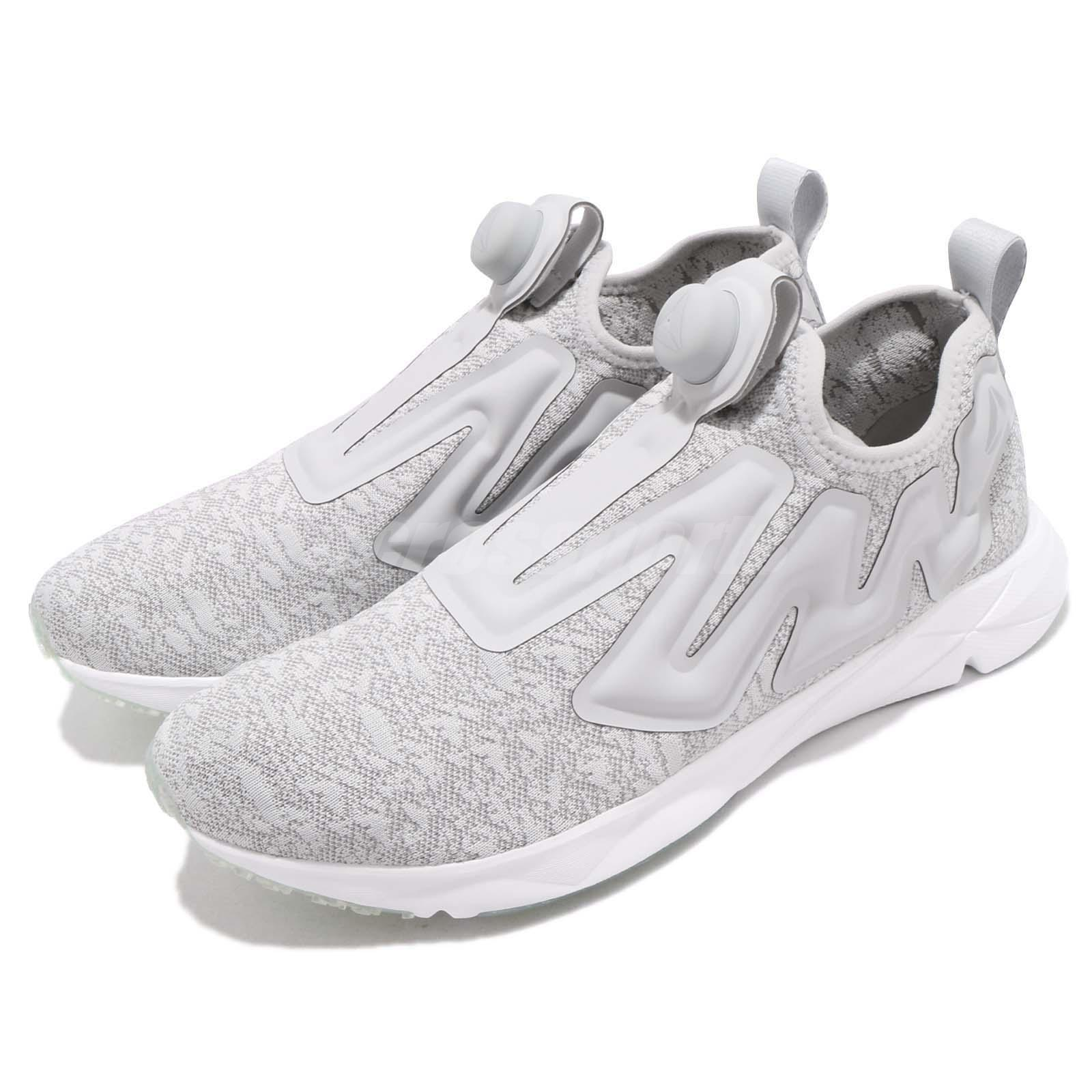 926e6d8d7ca Details about Reebok Pump Supreme Ice Grey White Men Running Slip On Shoes  Sneakers CN2937