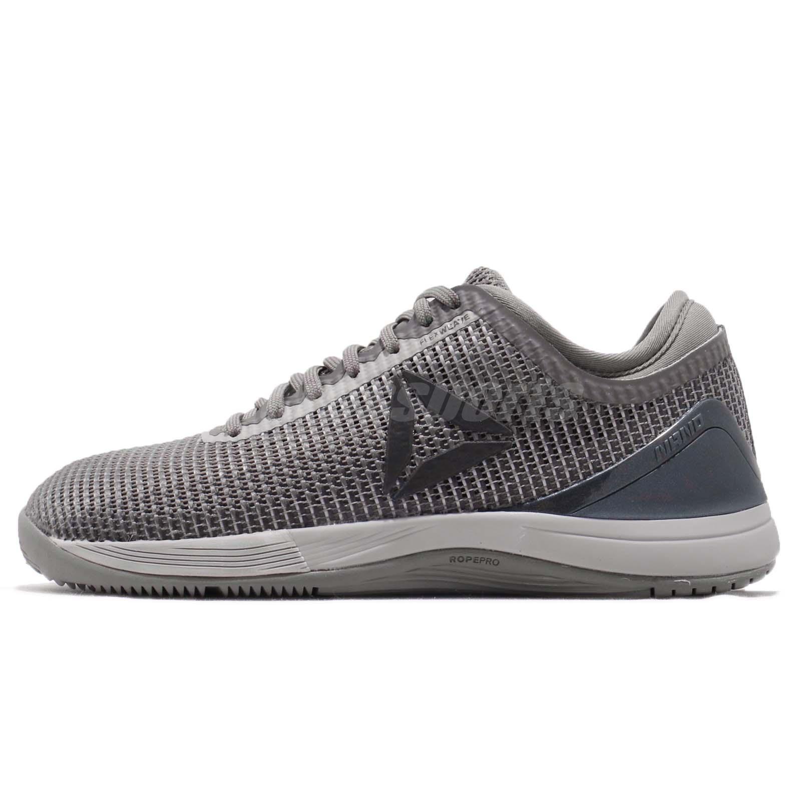 Reebok R CrossFit Nano 8.0 Grey Silver Women Cross Training Shoes Sneaker  CN2981 4a42432d1