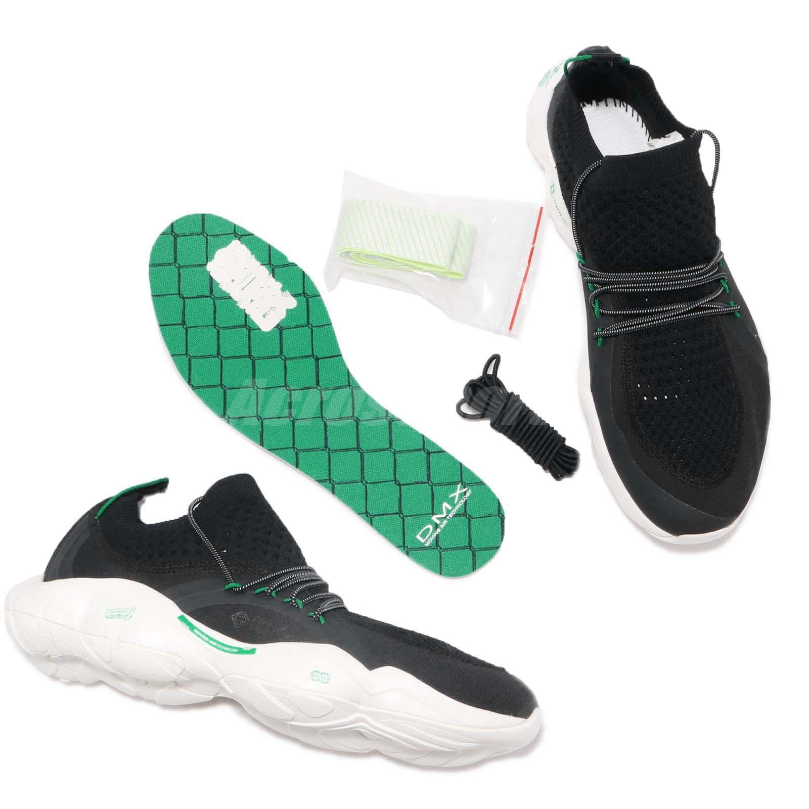 Sneakers Green Men Green DMX Running Chalk Reebok Mita Shoes