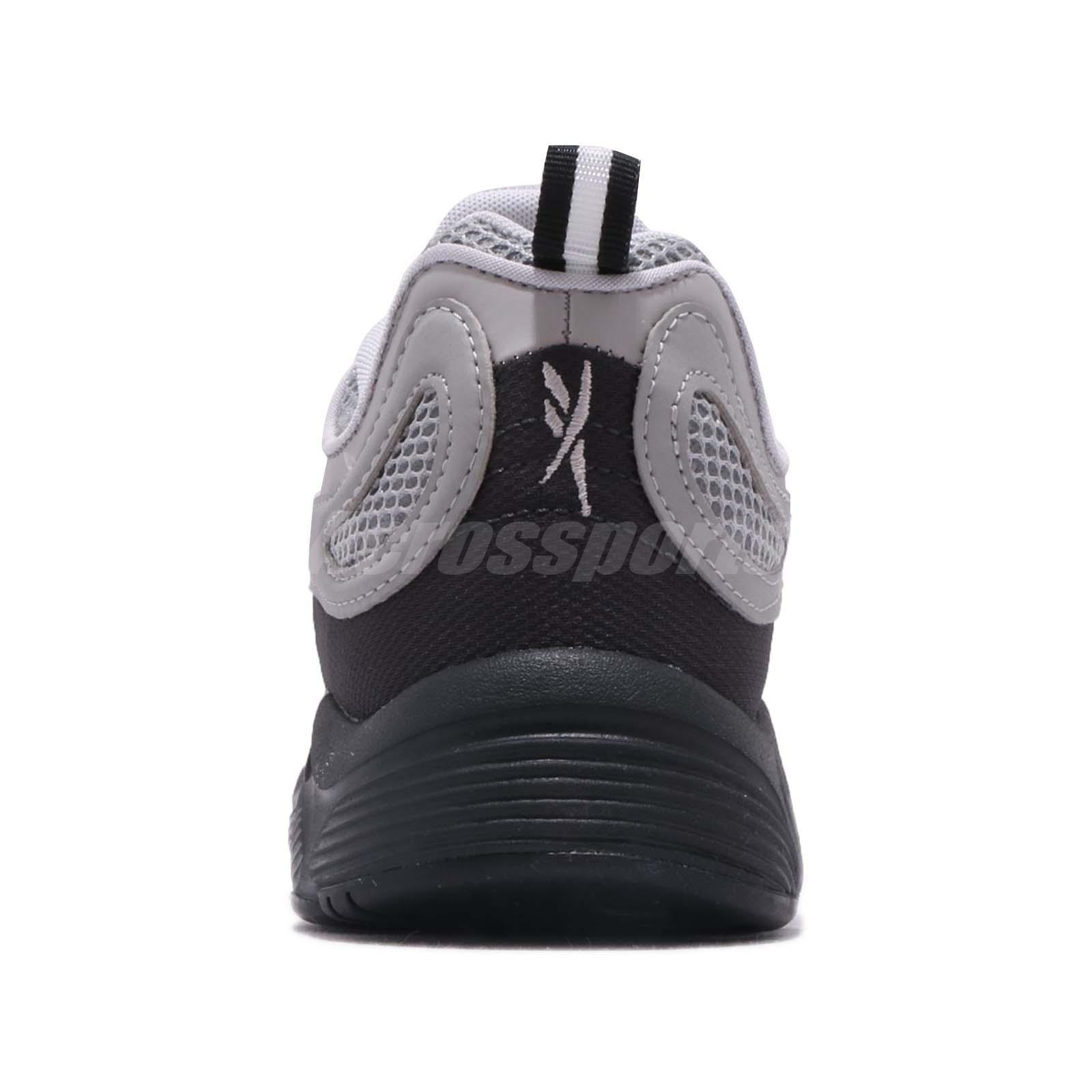 1d9b8b94d29 Reebok Daytona DMX Black Carbon Grey Red Men Running Daddy Shoes ...