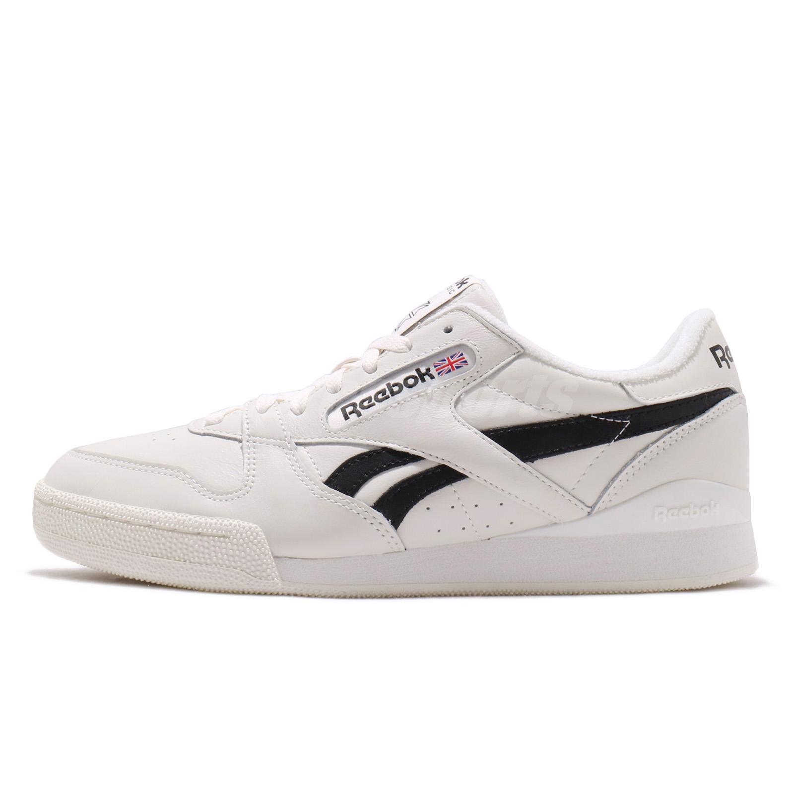 2c7cc80f191 Details about Reebok Phase 1 Pro MU Chalk Black Men Classic Casual Shoes  Sneakers CN3926