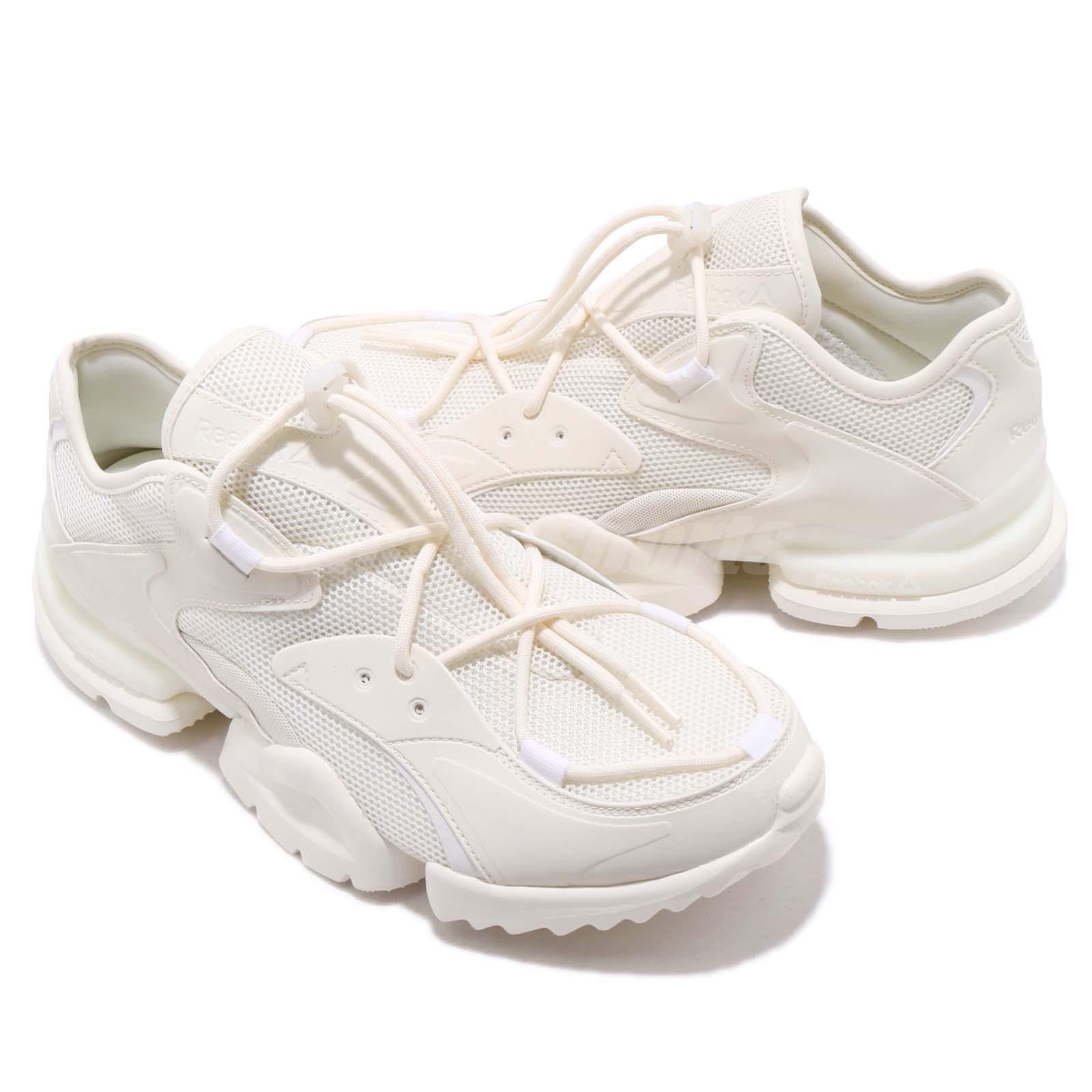 8a5d947b9838ac Reebok RUN R 96 Chalk White Men Running Daddy Chunky Shoes Sneakers ...