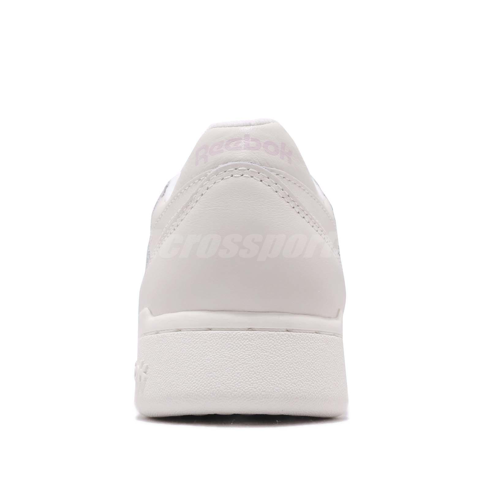 b89d0677544fe Reebok Workout LO Plus White Practical Pink Women Casual Shoes ...