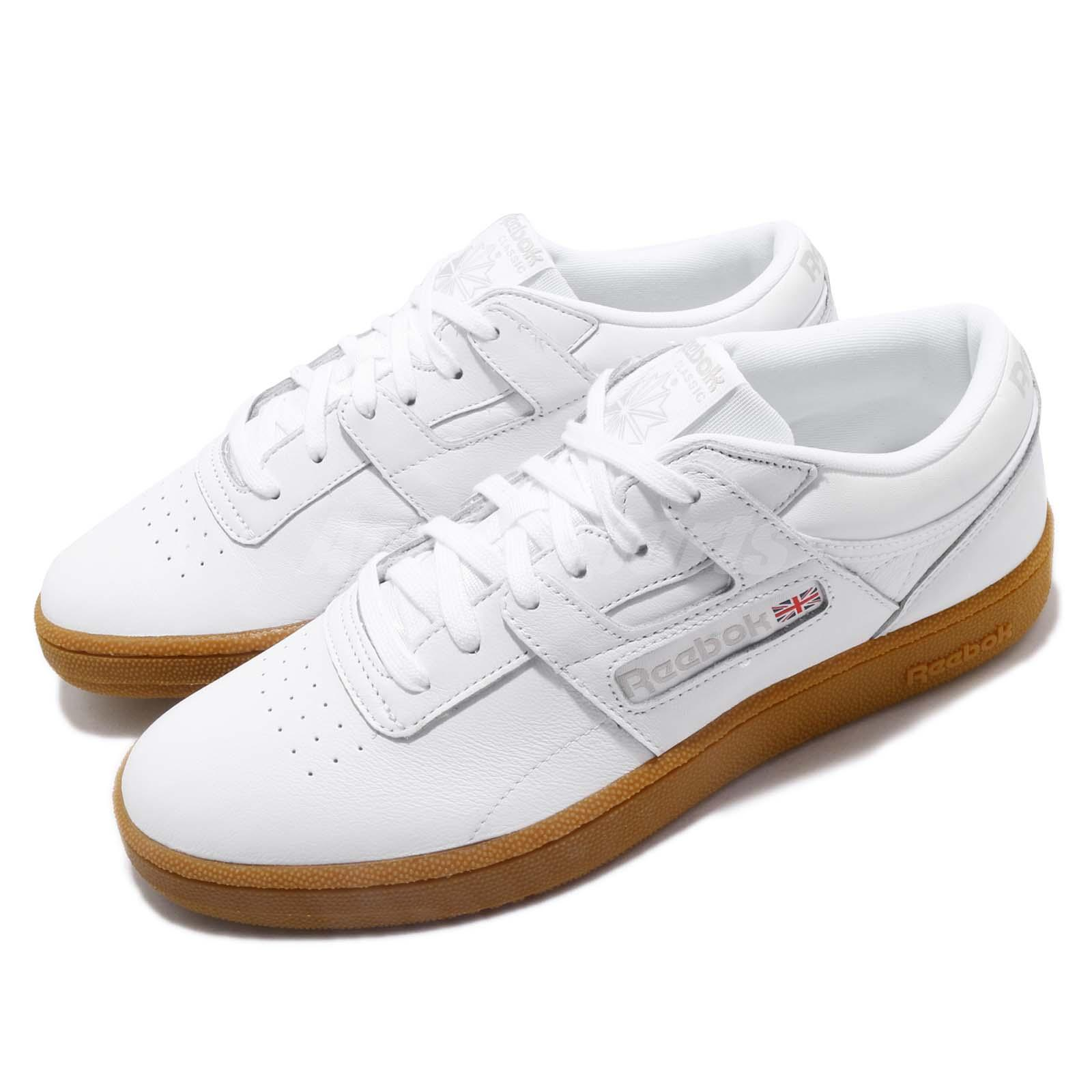 113729e8b79a0 Details about Reebok Club Workout MU White Skull Grey Gum Men Casual Shoes  Sneakers CN5076