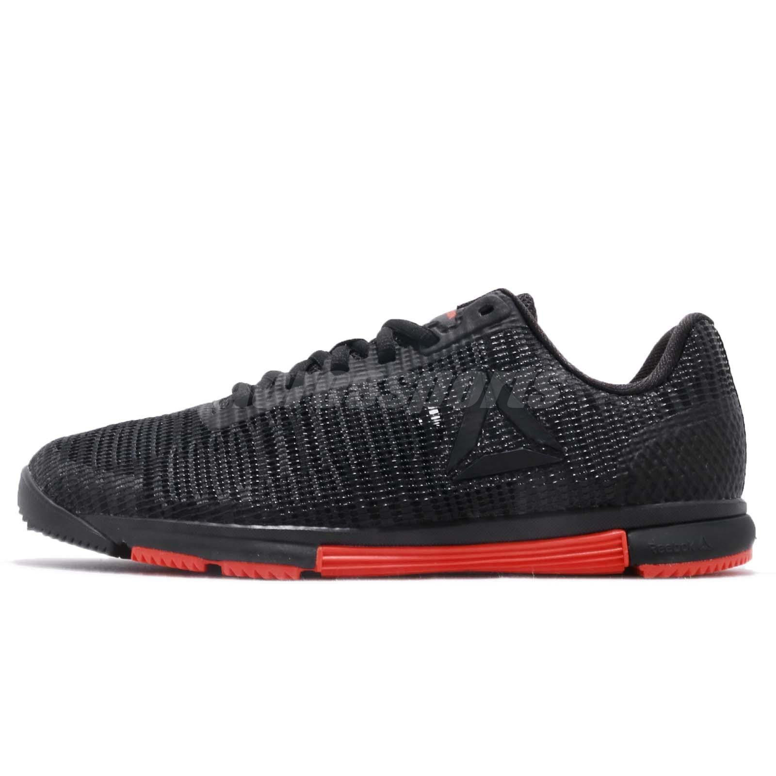 dc30b31f716 Reebok Speed TR Flexweave Black Carotene Women Cross Training Shoes CN5504