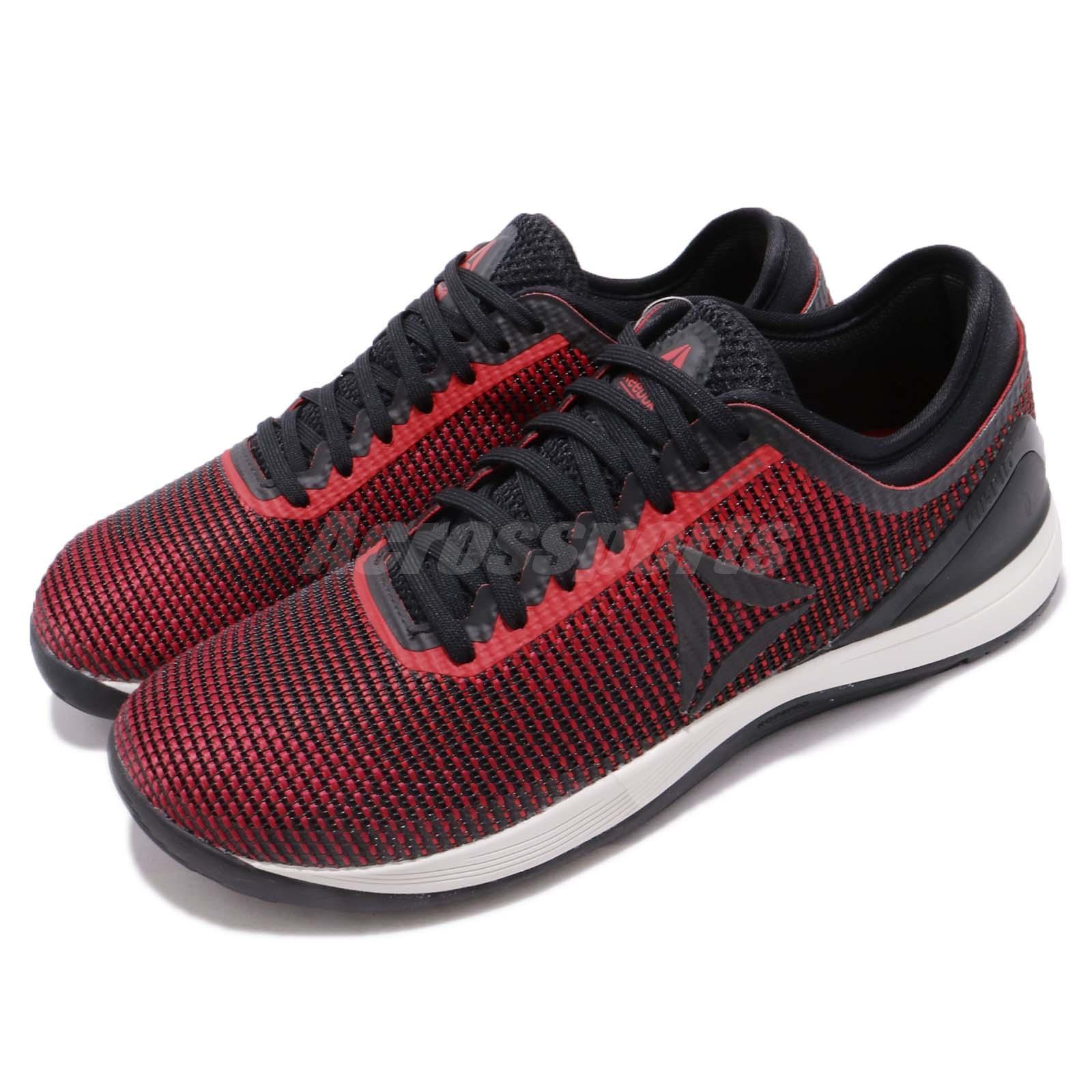 4f22ee3e1a2c70 Details about Reebok R CrossFit Nano 8.0 Black Red Chalk Men Cross Training  Shoes CN5656