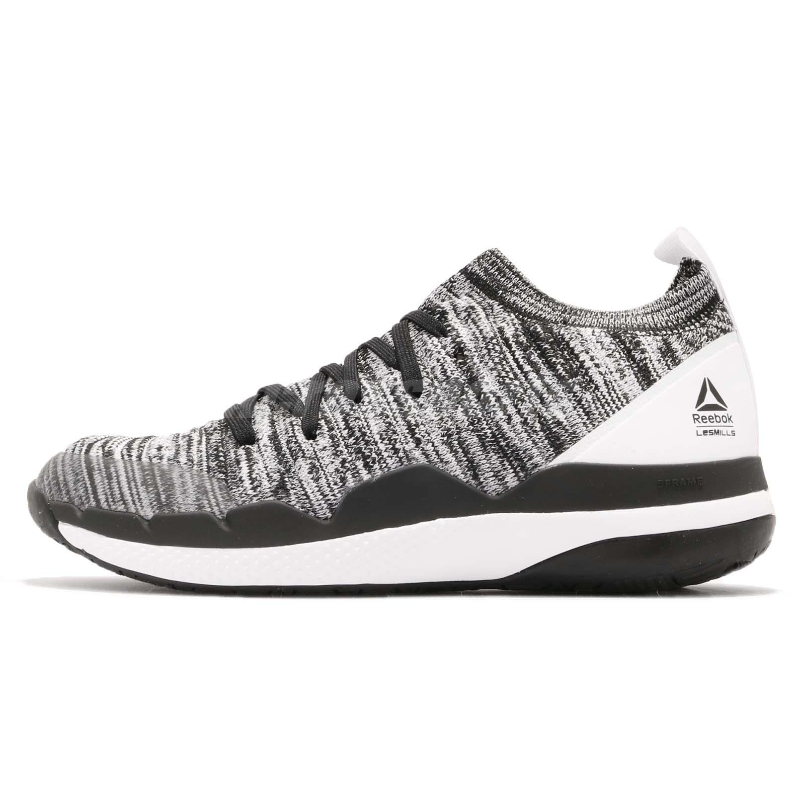 029458b34f Details about Reebok Ultra Circuit TR ULTK LM Ultraknit Black White Men  Training Shoes CN6344