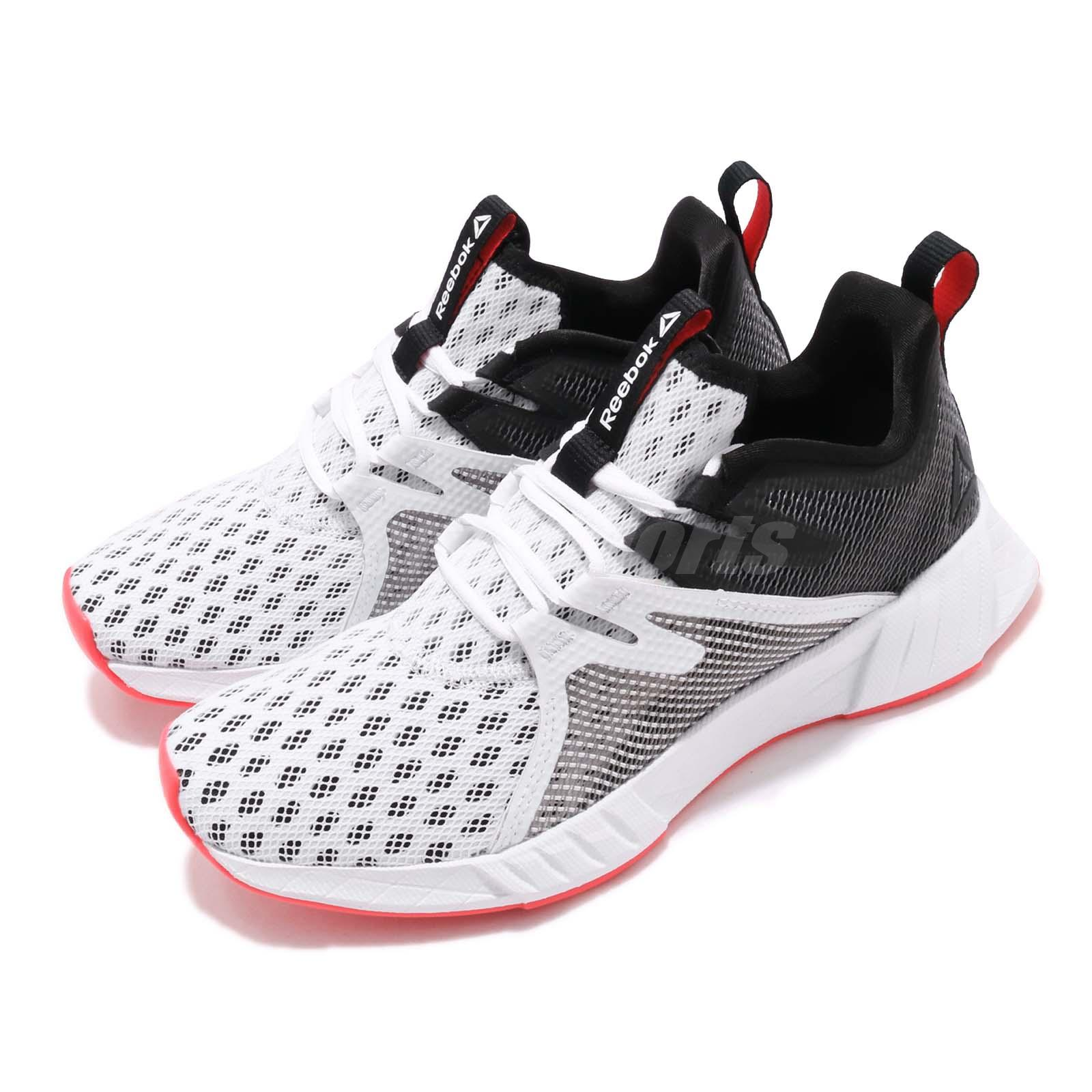 Acusación Deformación hazlo plano  Reebok Fusium Run 2.0 White Black Red Silver Women Running Shoes ...