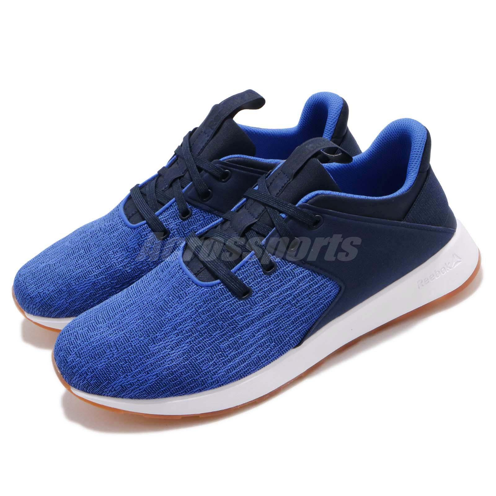 ed521133153 Details about Reebok Ever Road DMX Navy Blue White Gum Men Running Casual  Shoes Sneaker CN6402