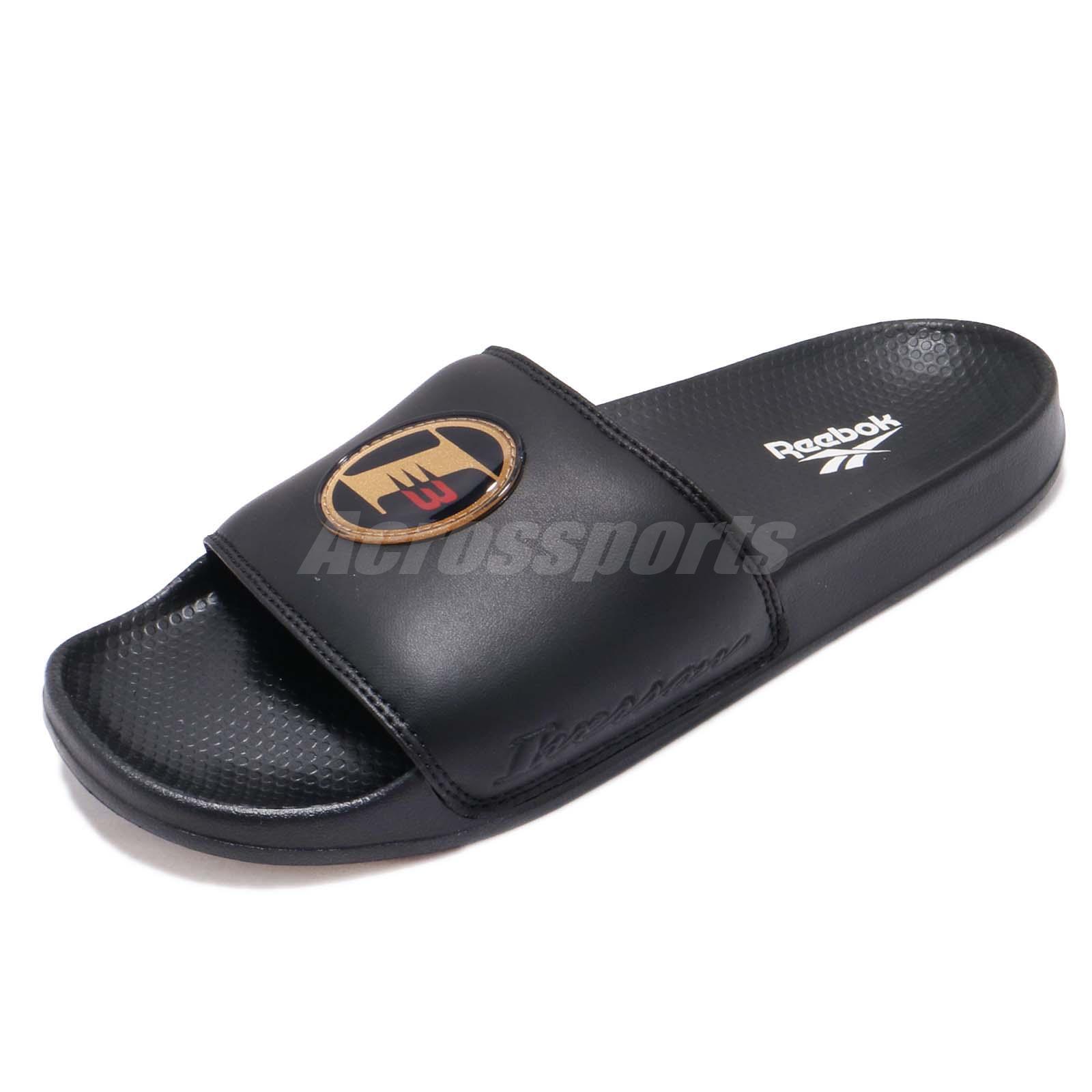 0f3571d39 Details about Reebok Classic Slide AI Allen Iverson I3 Black Men Sports Sandals  Slipper CN6737