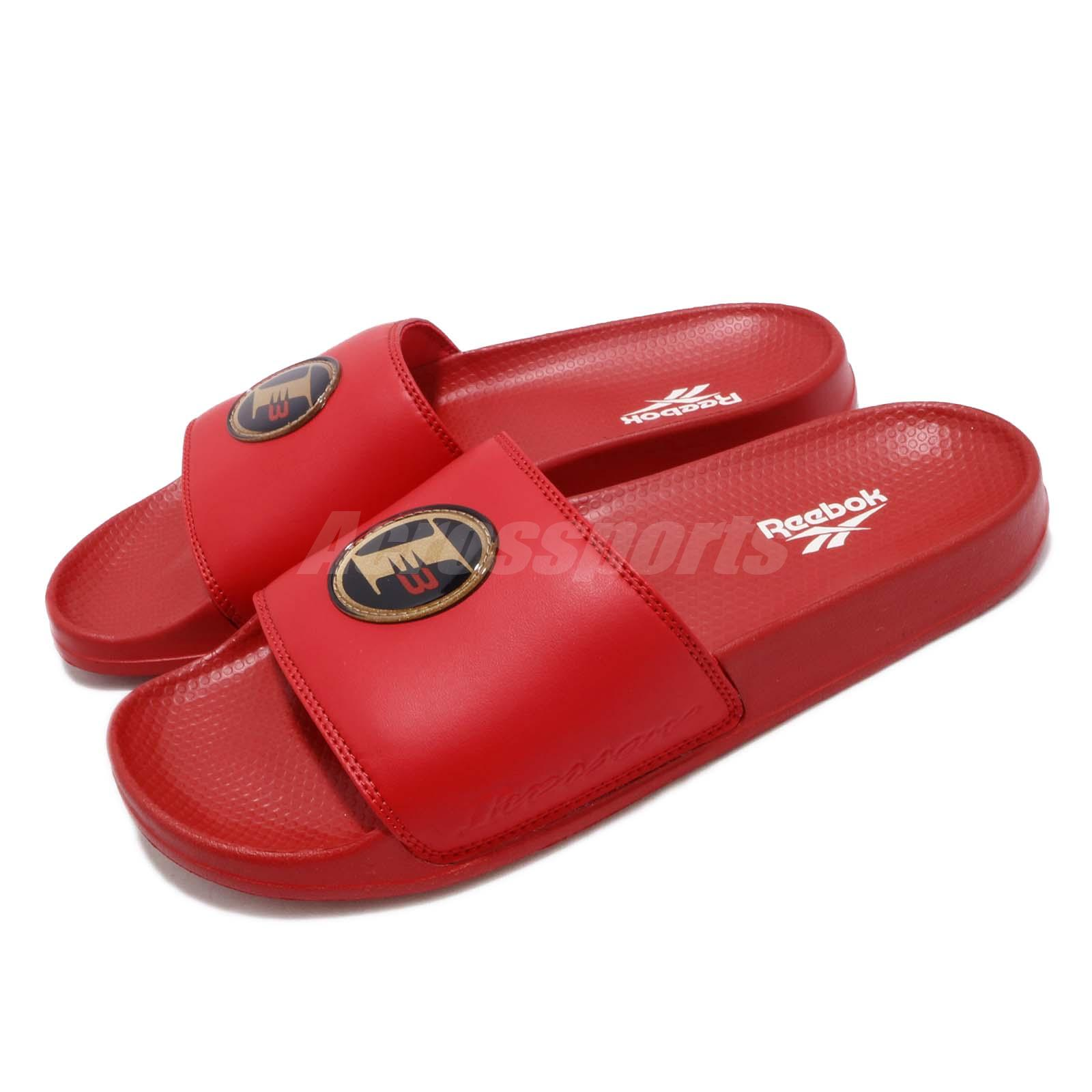 be048682d Details about Reebok Classic Slide AI Allen Iverson I3 Red Men Sports  Sandals Slippers CN6738