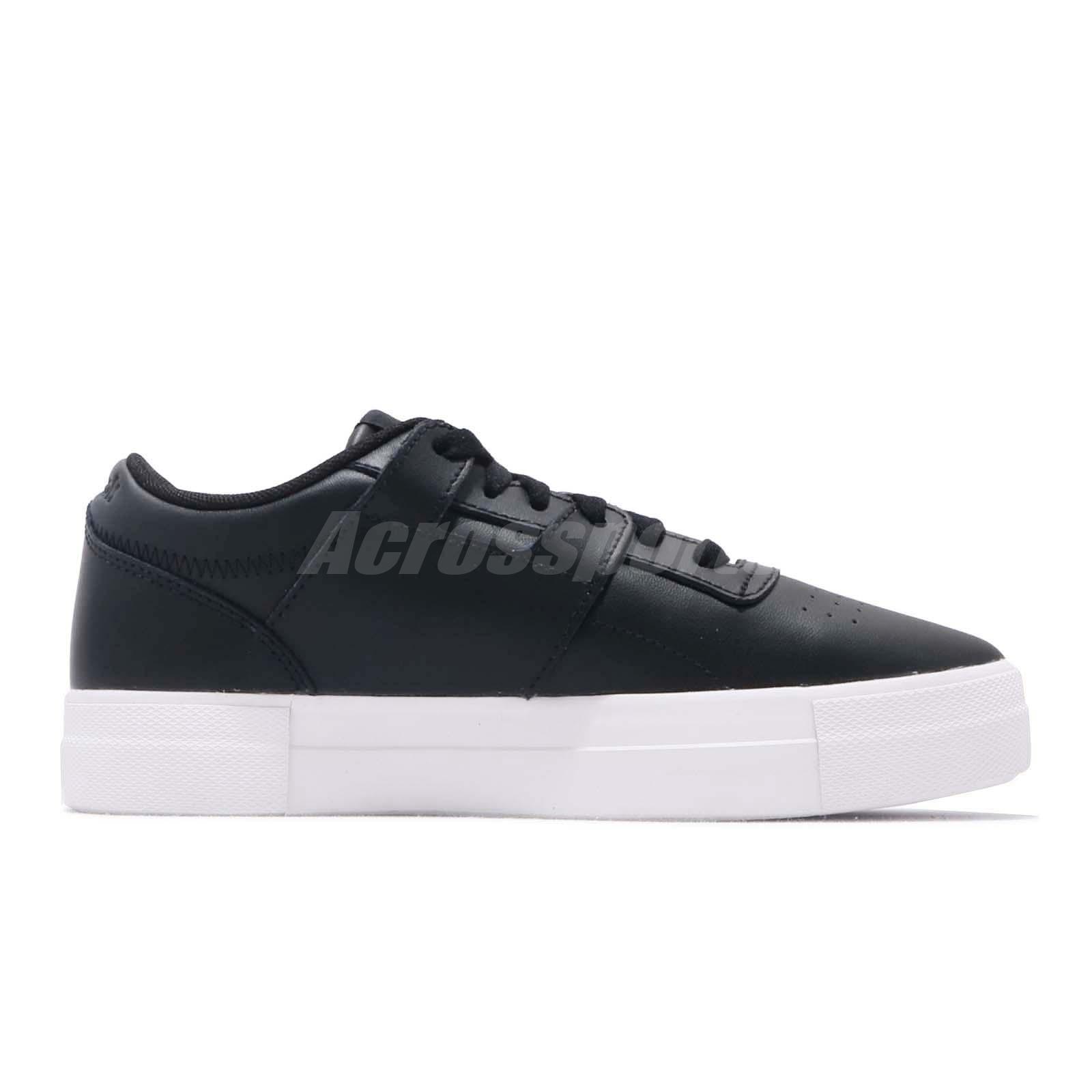 Details about Reebok Workout LO FVS Basic Black White Women Classic Casual Shoe Sneaker CN6891