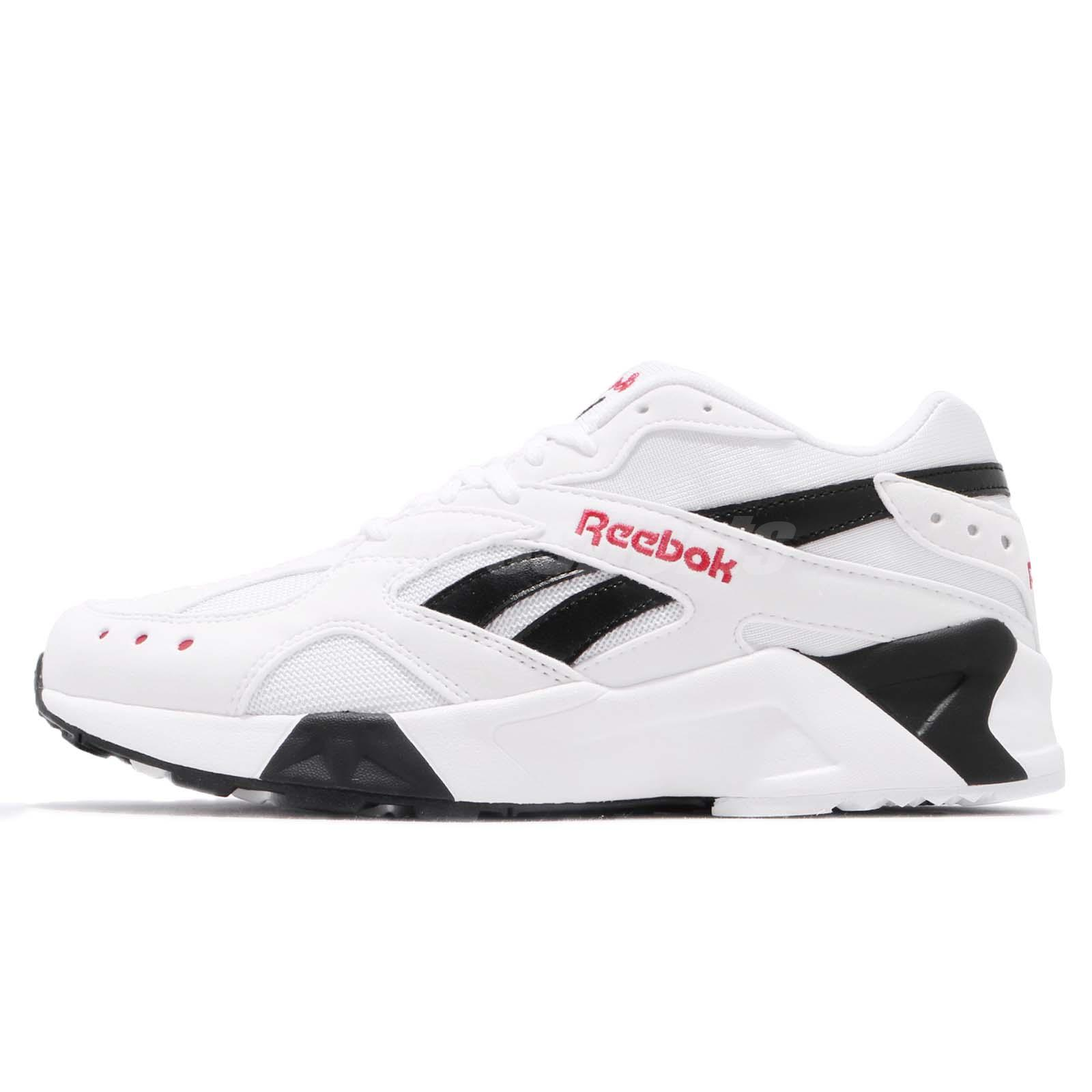 7726f9b63a7e ... coupon code reebok aztrek white black excellent red men running daddy  shoes sneakers cn7187 d18cc 5d3af