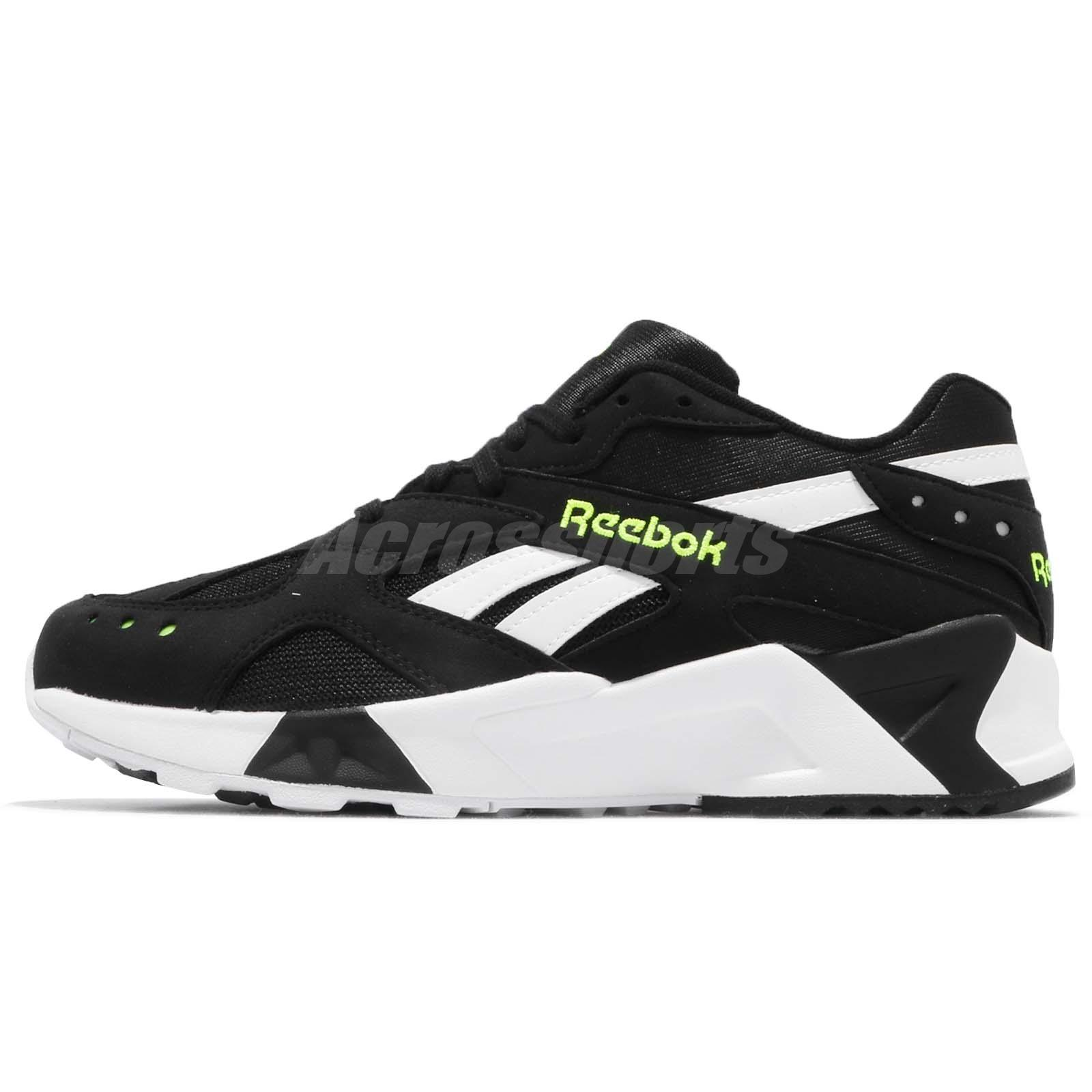 ef9a7eff91e01e Reebok AZTREK Black White Solar Yellow Men Running Daddy Shoes Sneakers  CN7188