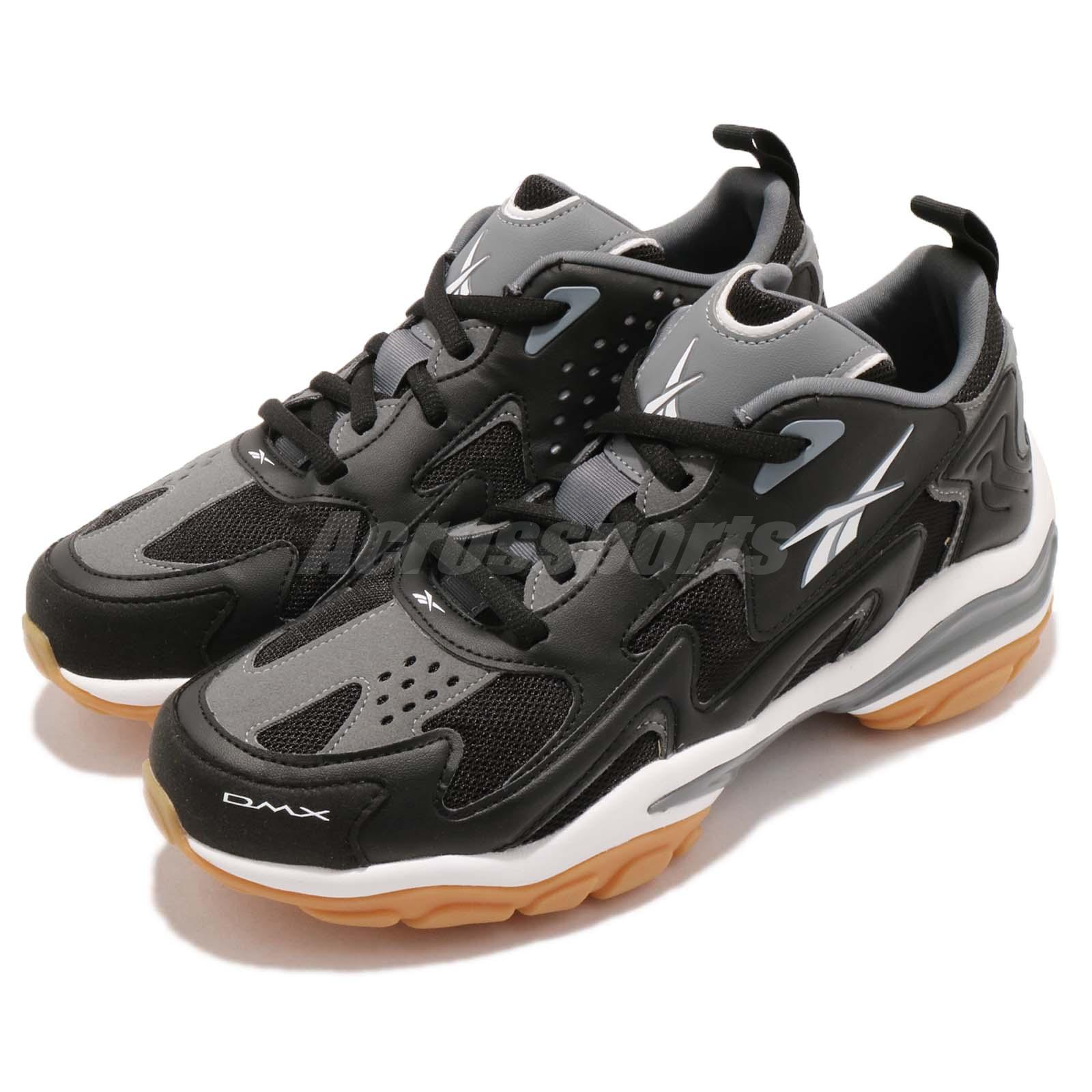 12c36718609 Details about Reebok DMX Series 1600 Black Grey White Gum Men Casual Shoes  Sneakers CN7737