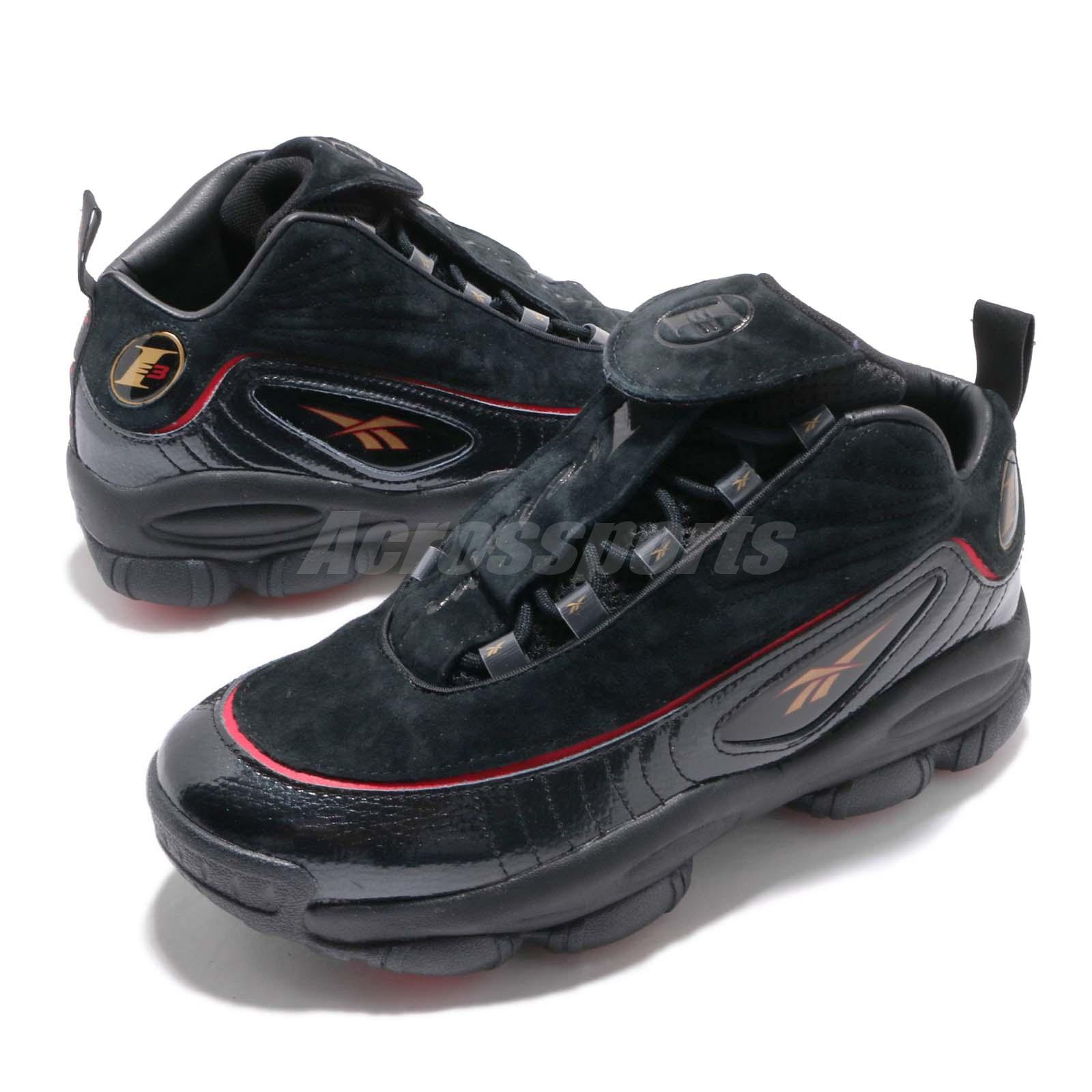 58cfaa46f6b4 Details about Reebok Iverson Legacy I3 Allen The Answer Black Red Men  Basketball Shoes CN8404