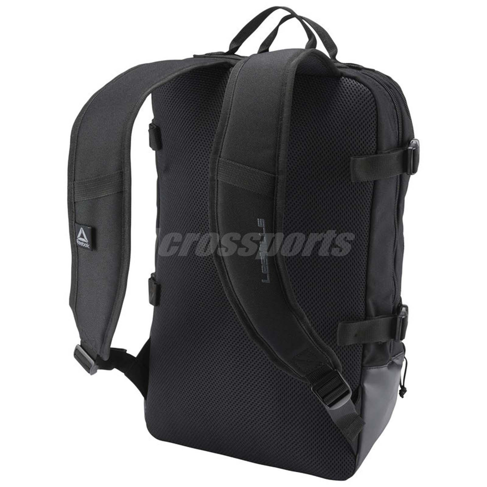 Reebok Les Mills Backpack Training Workout Fitness Gym Bag Sports ... f94d9a05ba7cb