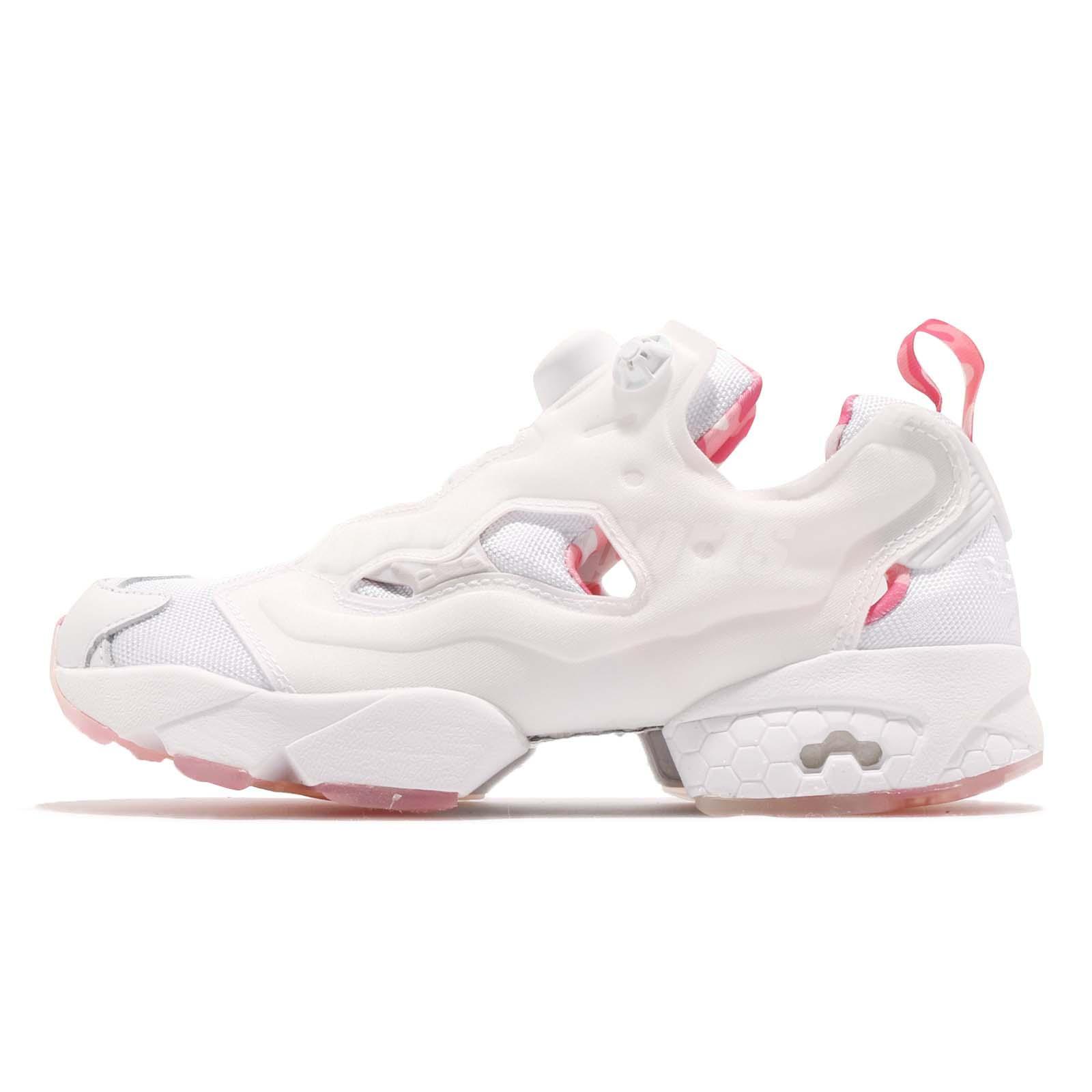 Details about Reebok Instapump Fury OG MU White Pink Men Women Casual Shoes Sneakers DV3696