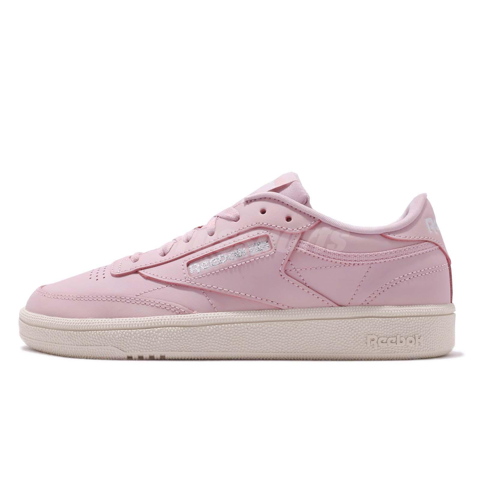 ecaf6d038f6b Reebok Club C 85 Ashen Lilac Silver Women Classic Casual Shoes Sneakers  DV3728