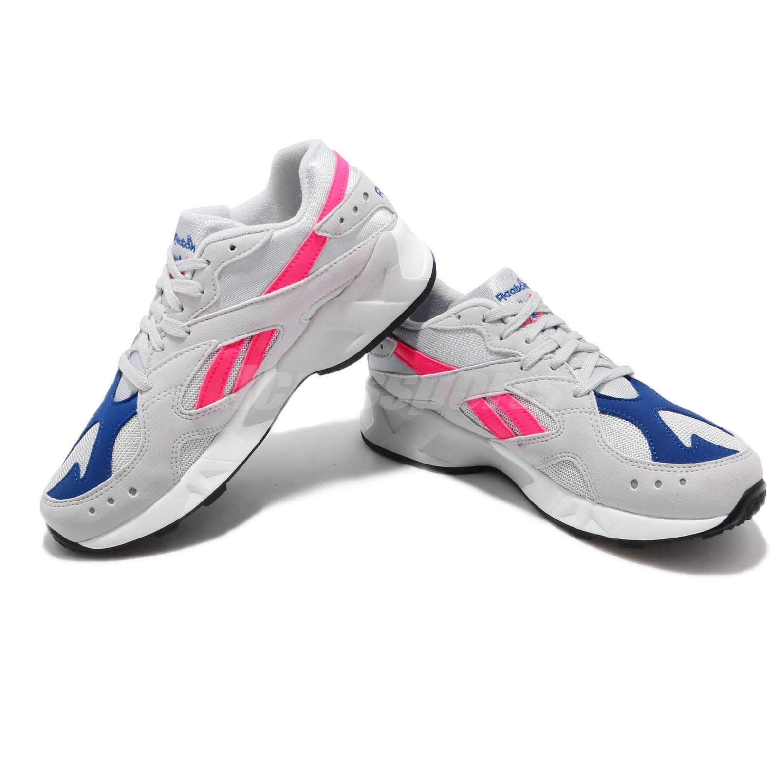 Reebok AZTREK Grey Pink Blue White Men Women Lifestyle Running Daddy ... f0559f8a9