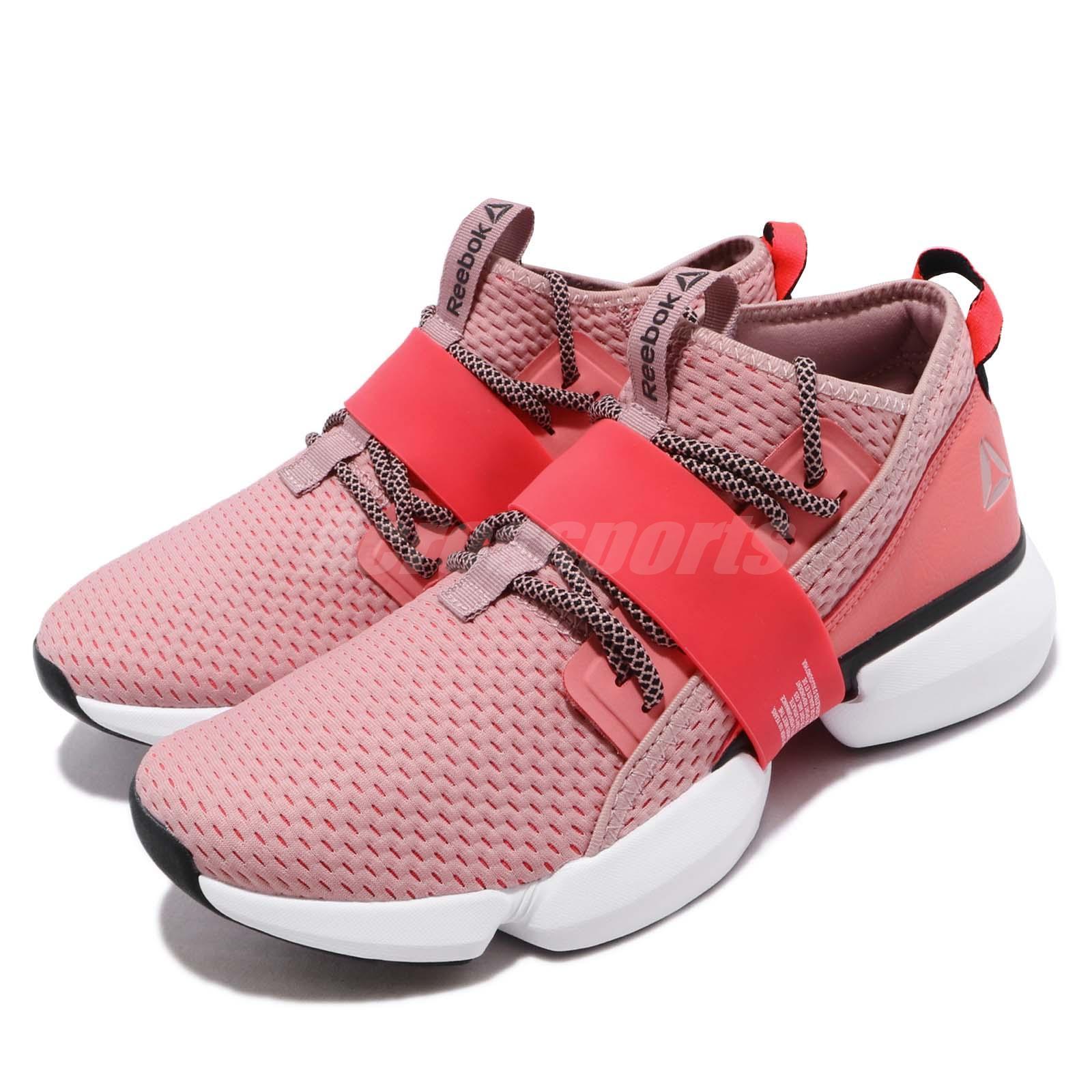 Details about Reebok Split Flex Rose Red White Black Women Cross Training Shoes Sneaker DV3960