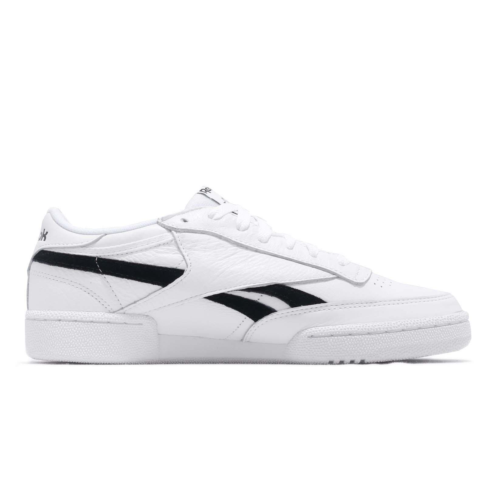 5f6b3c917f50 Reebok Revenge Plus MU White Black Men Classic Casual Shoes Sneakers ...
