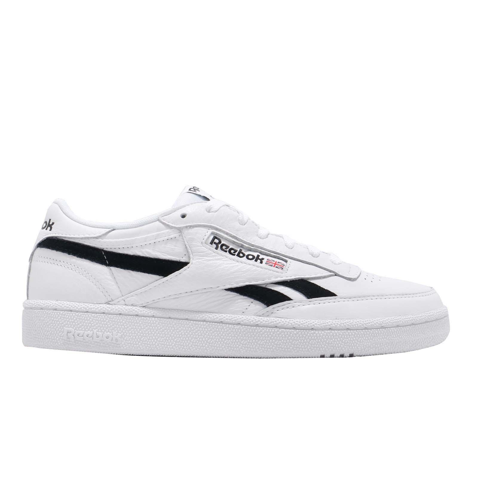 Dettagli su Reebok Revenge Plus MU White Black Men Classic Casual Shoes Sneakers DV4065