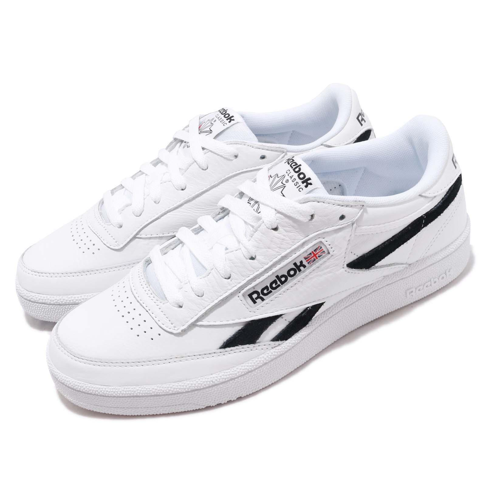 Details about Reebok Revenge Plus MU White Black Men Classic Casual Shoes Sneakers DV4065