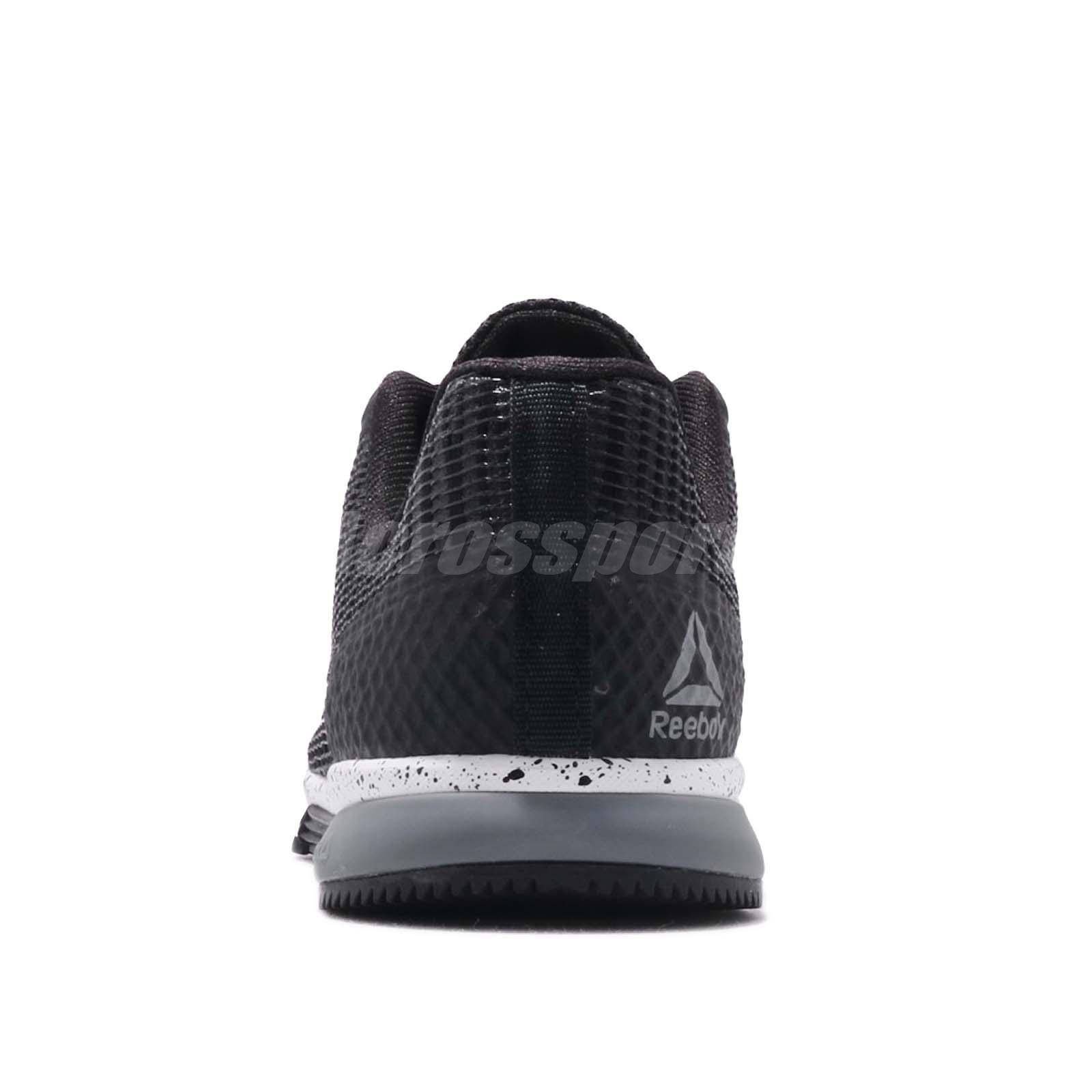 acddaab3c1b Reebok Speed TR Flexweave Black Grey Womens Cross Training Shoes ...