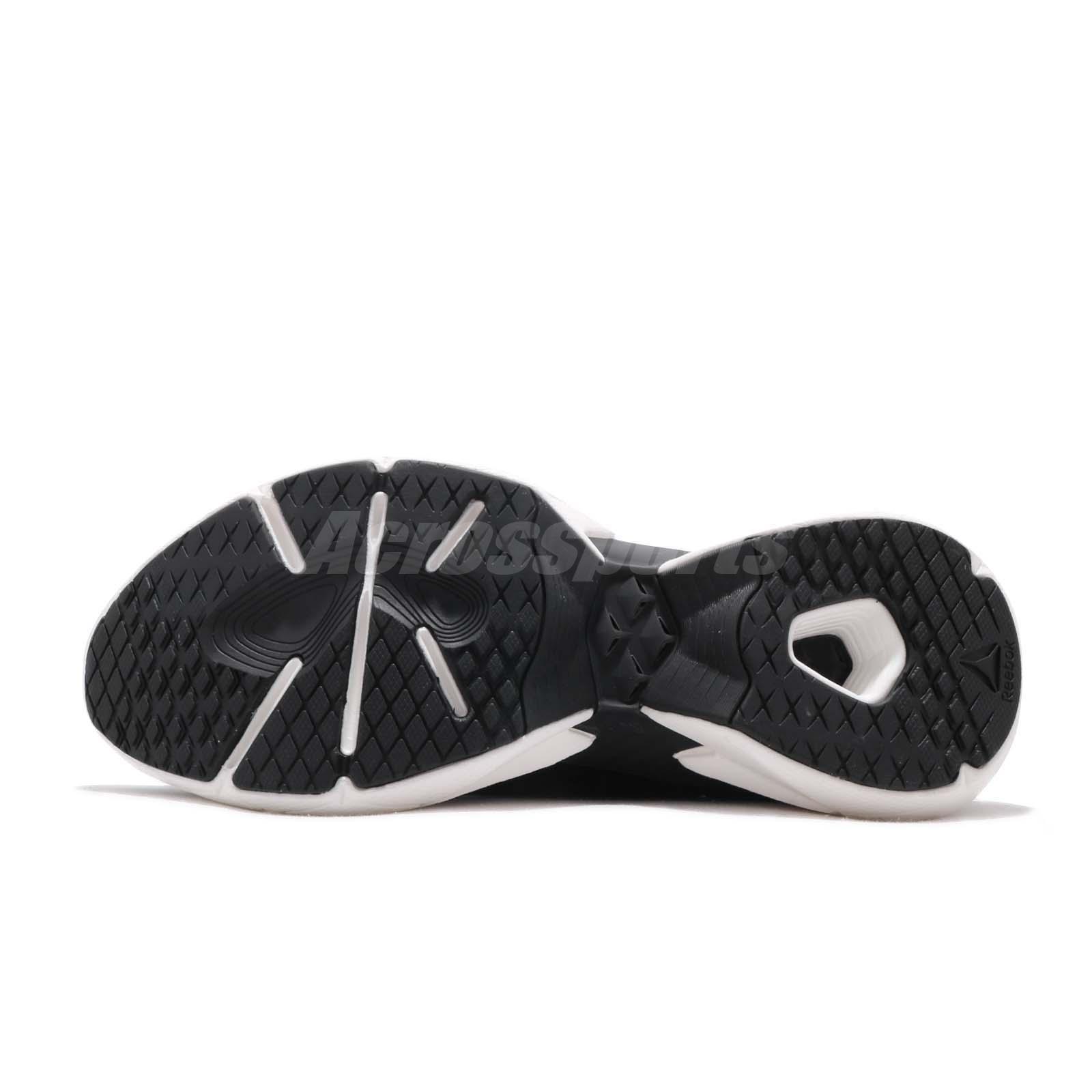 ebcbb782481 Reebok Sole Fury Floatride Black Grey Red White Men Running Shoes ...