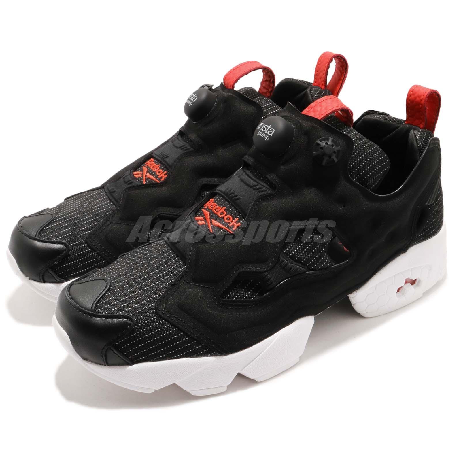 Reebok Instapump Fury MU Love Pack Black Red White Men Shoes Sneakers DV4590