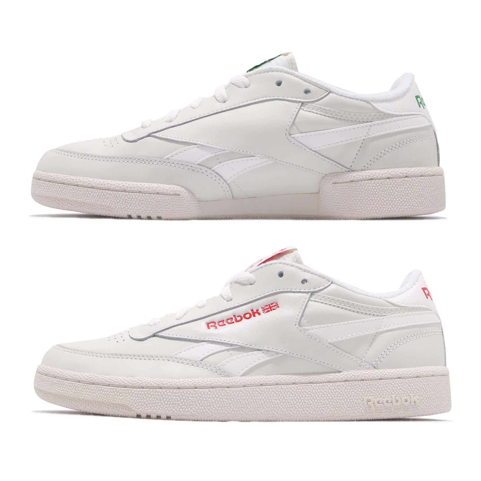 6b4fedb1e2e Reebok Revenge Plus MU Chalk Glen Green Scarlet Men Classic Casual Shoes  DV5181