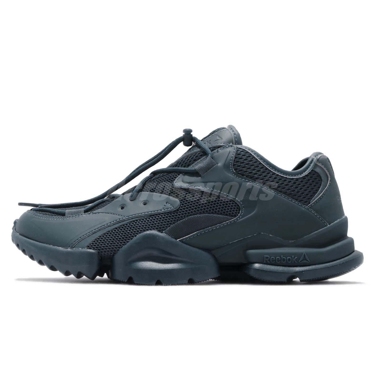 0863d48aa9c122 Reebok Run R 96 Blue Men Running Casual Lifestyle Chunky Shoes Sneakers  DV5205