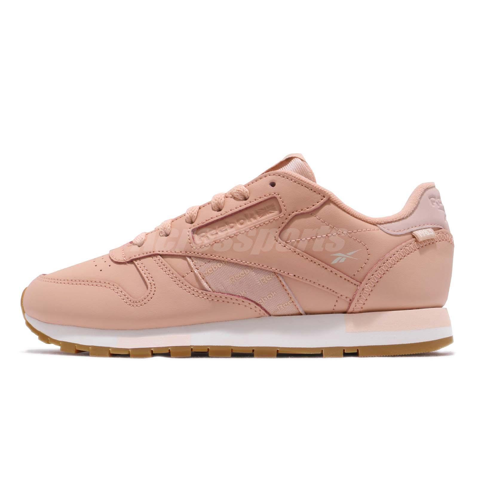 cf22a30446068 Reebok Classic Leather Altered Rose Cloud Gold Gum Women Shoes Sneaker  DV5236