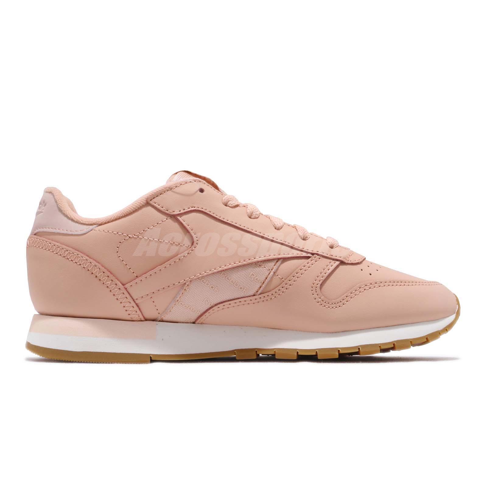 2b7d5a1bd19c5 Reebok Classic Leather Altered Rose Cloud Gold Gum Women Shoes ...
