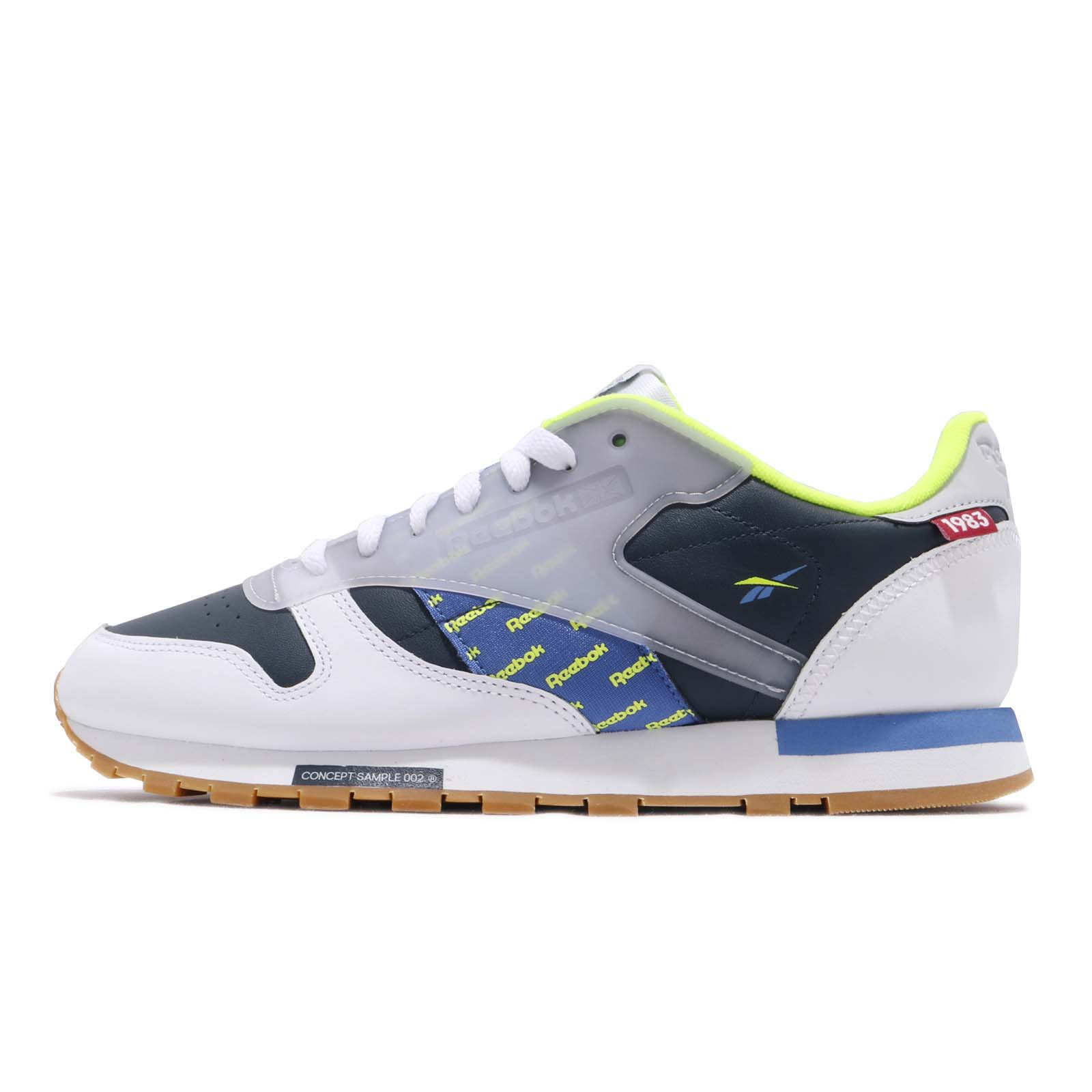 size 40 14786 77ea1 Reebok Classic Leather Altered ATI White Navy Lime Grey Gum Men Shoes DV5241