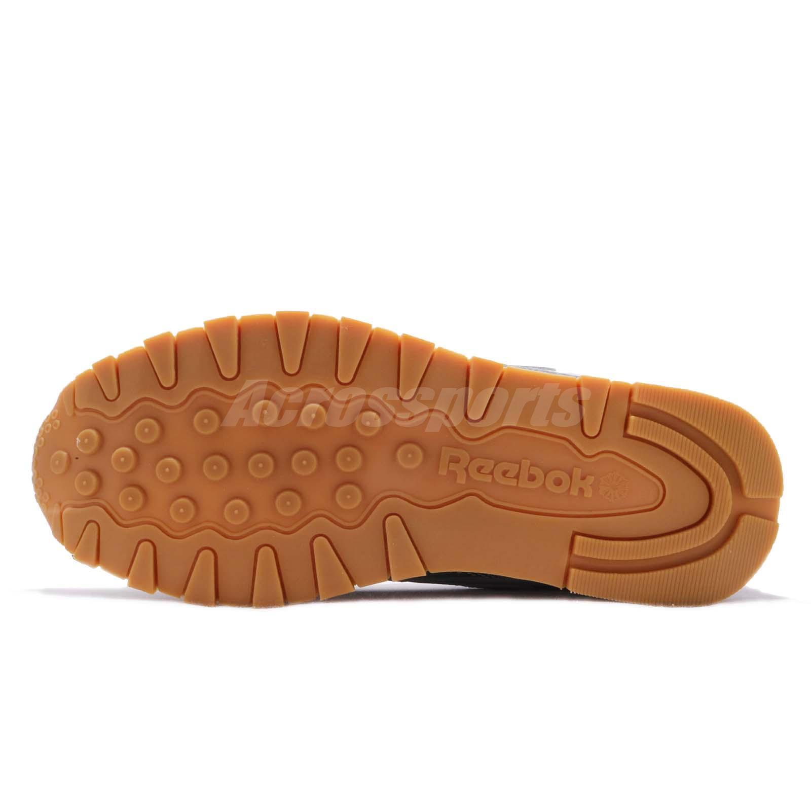 Reebok CL Lthr ATI 90 S Crâne Gris Noir Rose Lime Gum Hommes Chaussures De Course DV5375