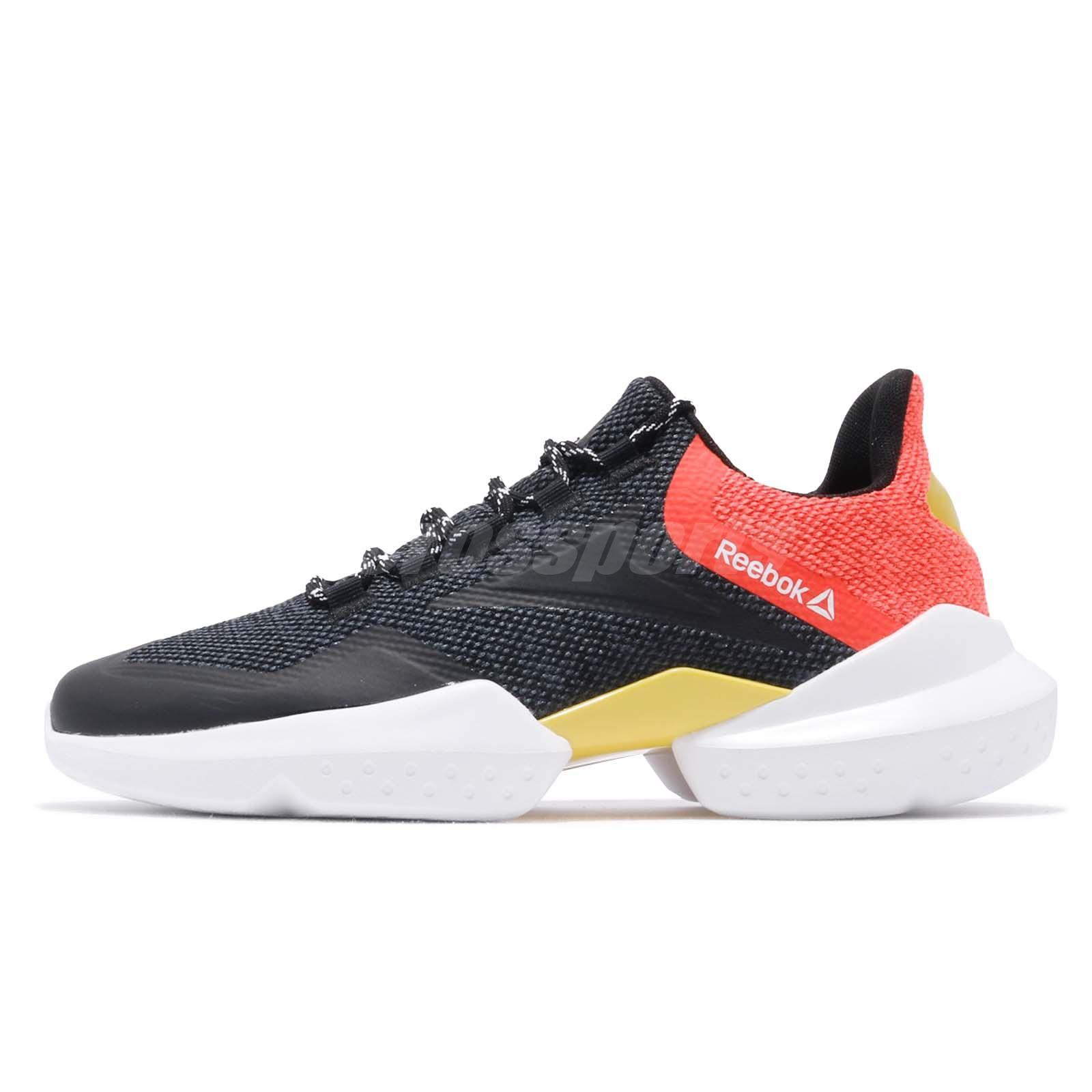 3a1e0b9ce27 Reebok Split Fuel Black White Red Yellow Grey Men Running Shoes Sneakers  DV5450