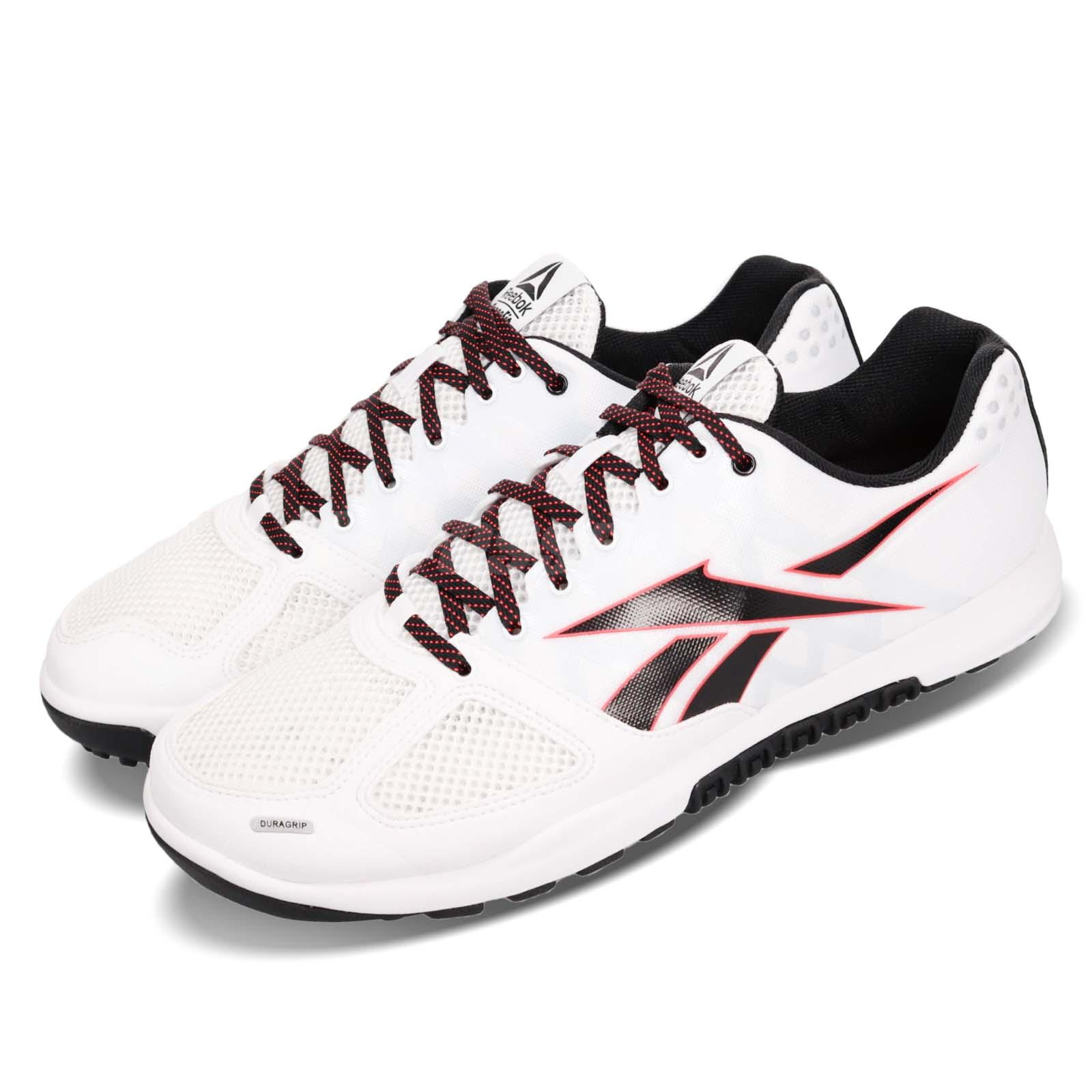 181ca03e38 Details about Reebok R CrossFit Nano 2.0 White Black Red Men Cross Training  Shoes DV5748