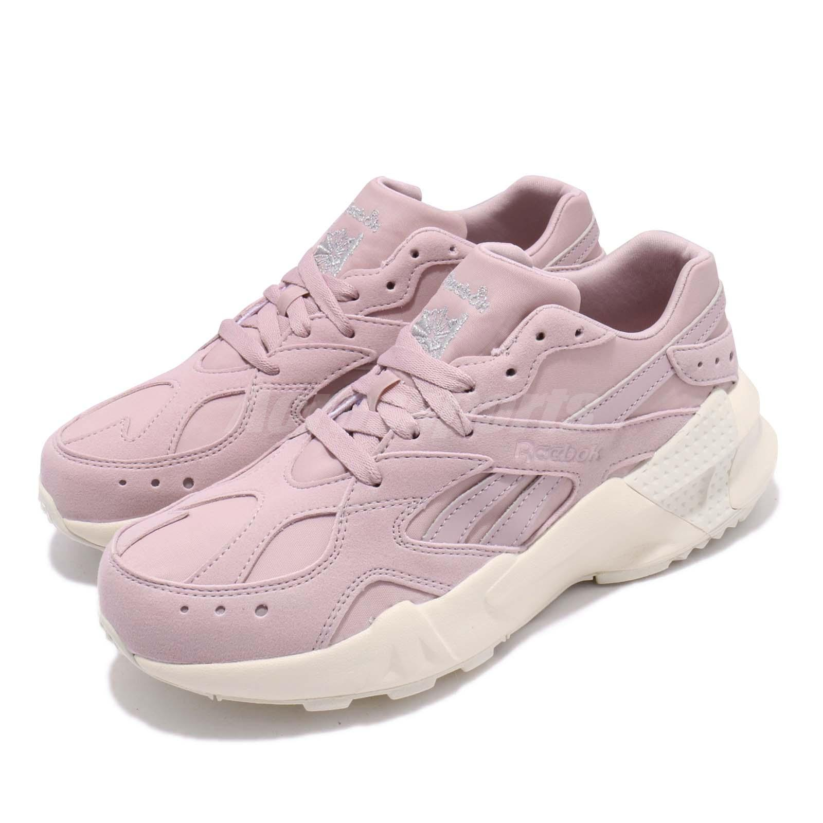 a1ee9d826f Details about Reebok AZTREK Double 93 Ashen Lilac Paper White Men Women  Chunky Shoes DV6309