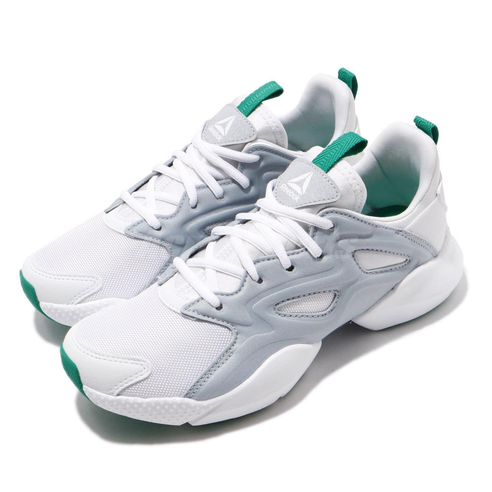 01e89828 Details about Reebok Sole Fury Adapt White Grey Green Women Running Shoes  Sneakers DV8452