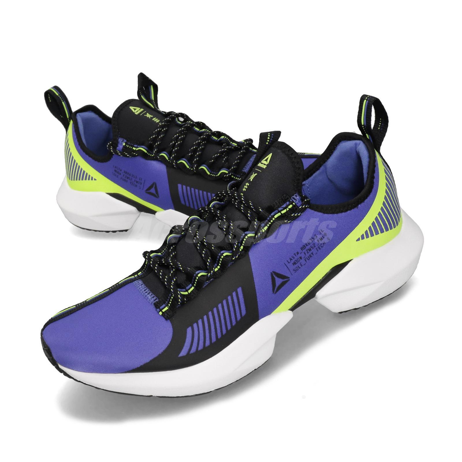 Reebok Sole Fury TS Purple Black Neon