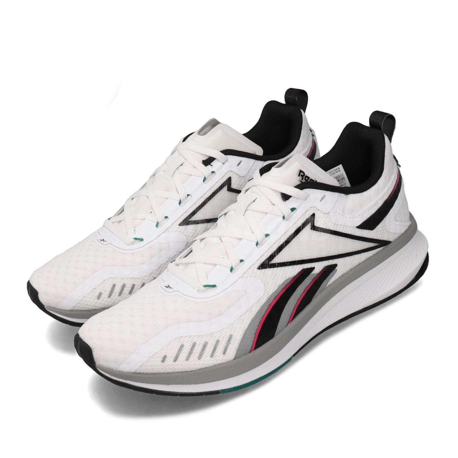 perdonar Ciro Erudito  Reebok RBK-Fusium Run 20 White Black Pink Grey Men Running Shoes ...